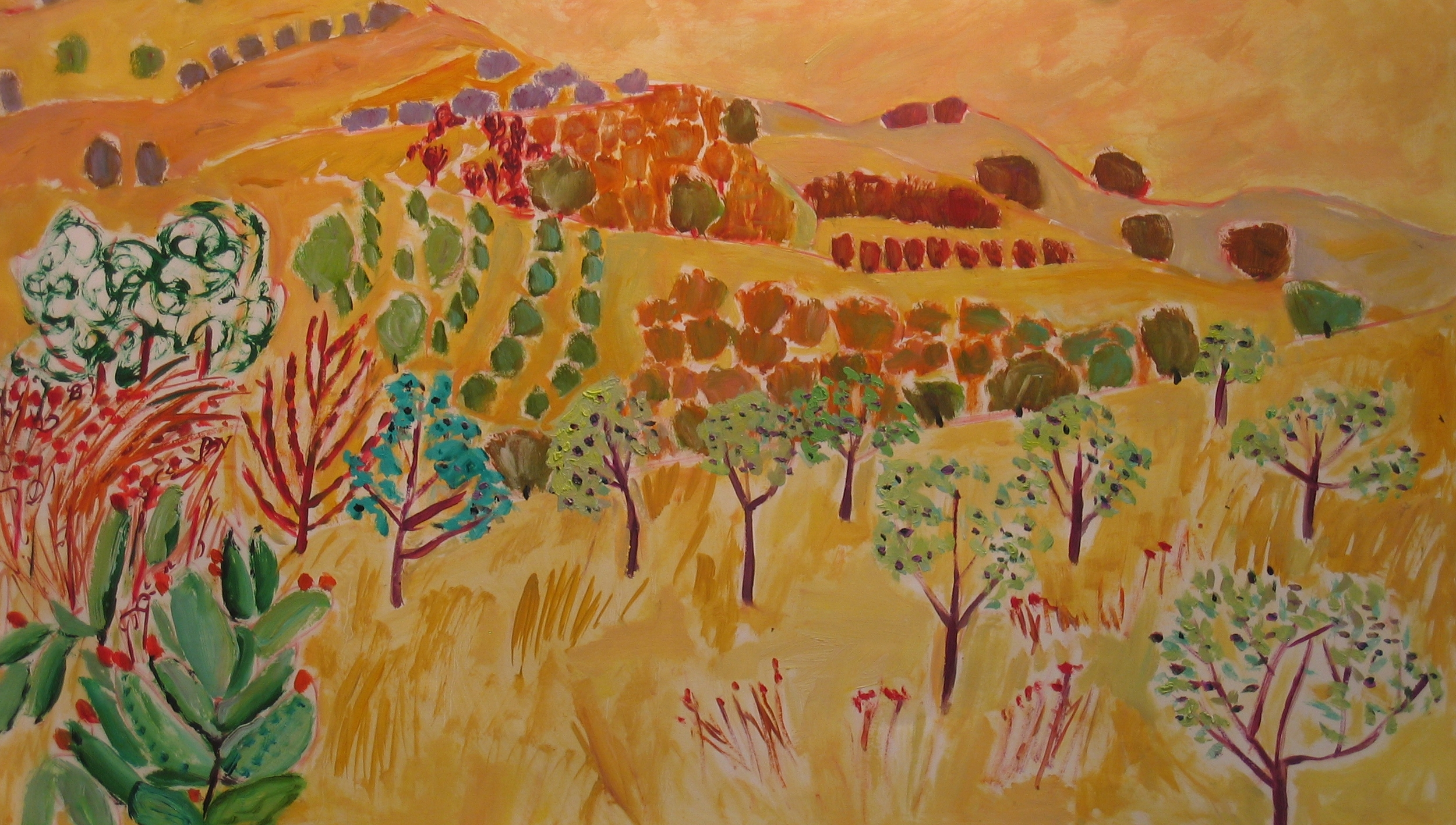 L Oilive grove (26x40)ins oil on paper.jpg