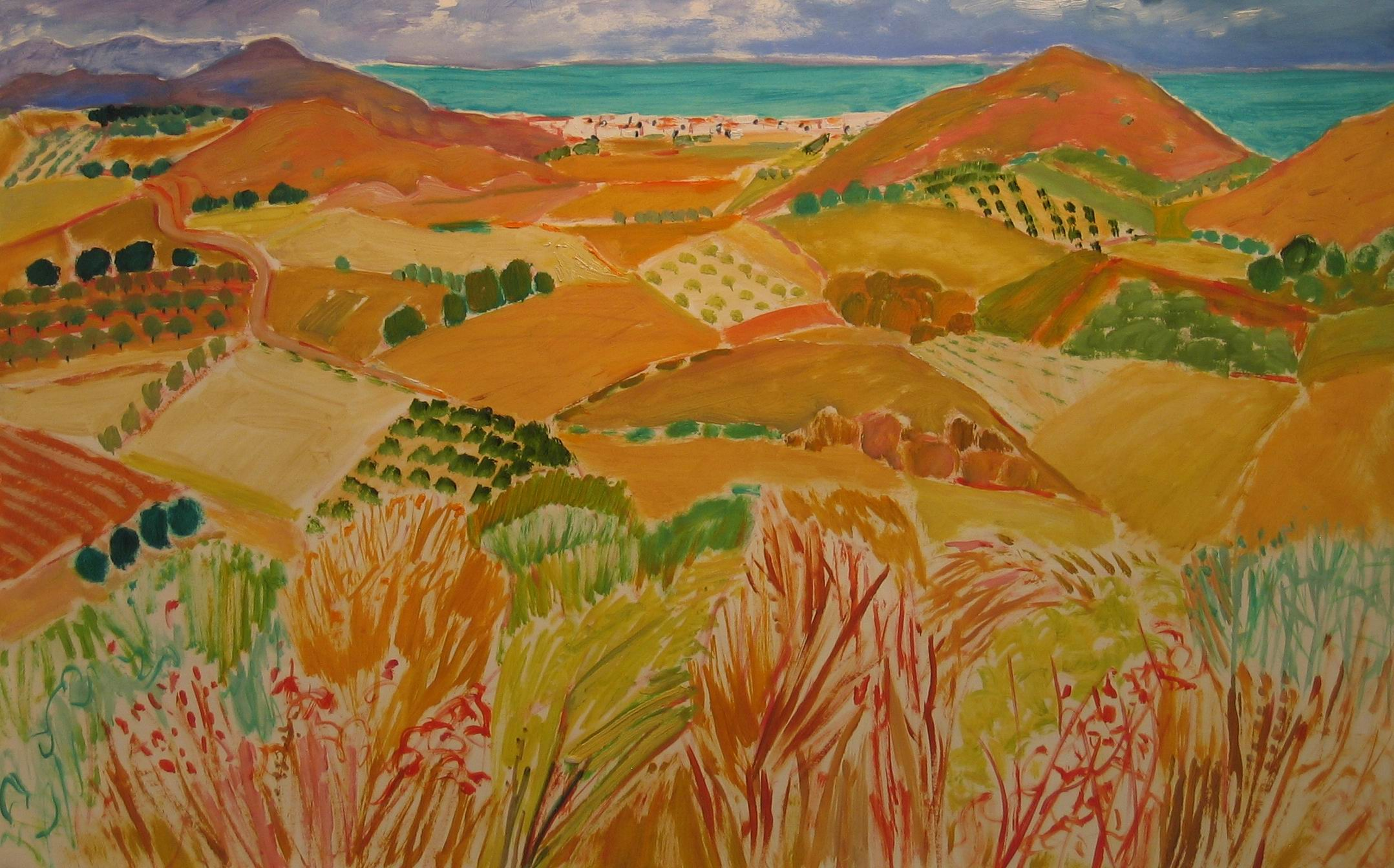 L View From Old Mojacar (22x30)ins oil on paper 2.jpg