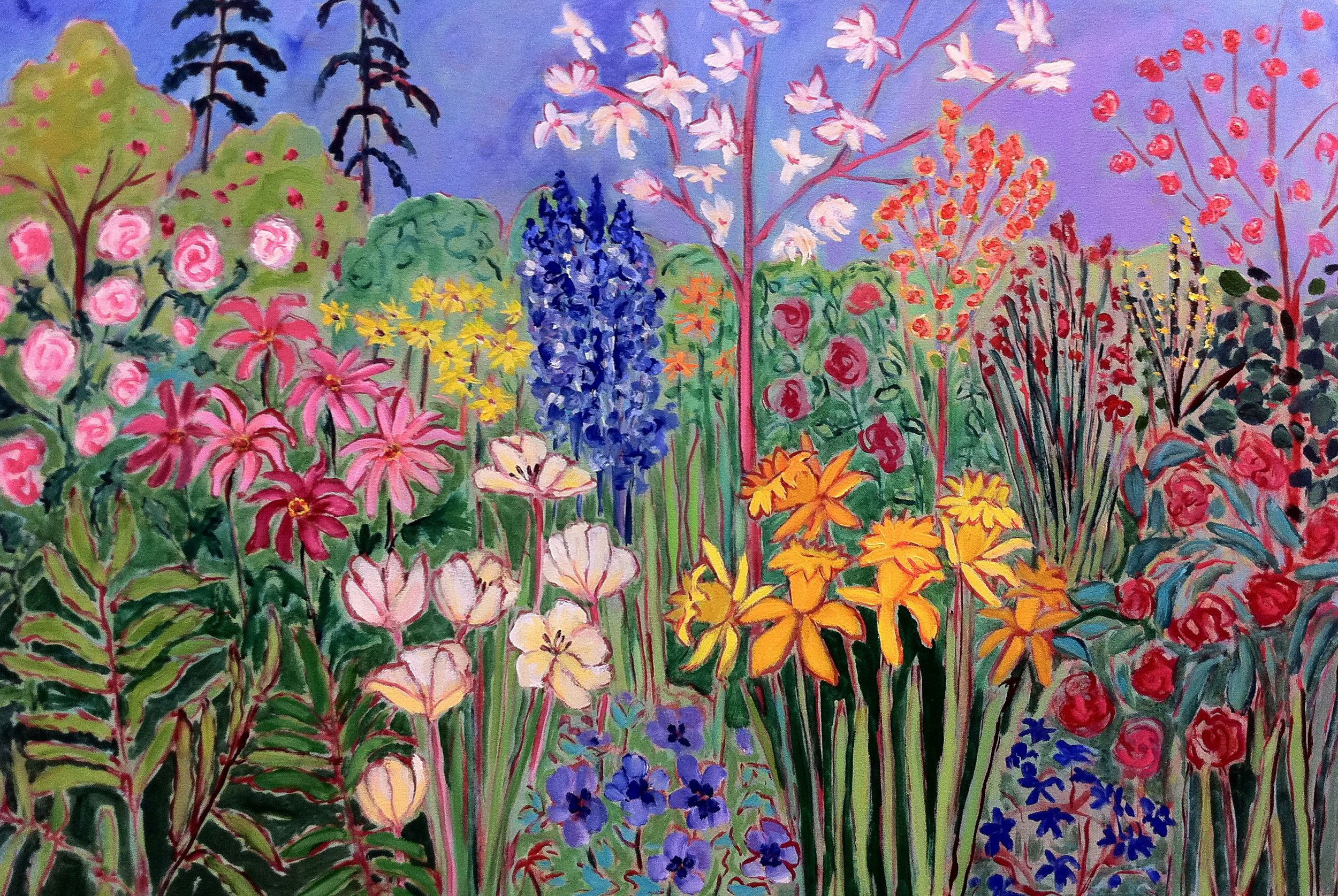 S Denman Garden !oil on canvas 24 x 36 inches.jpg