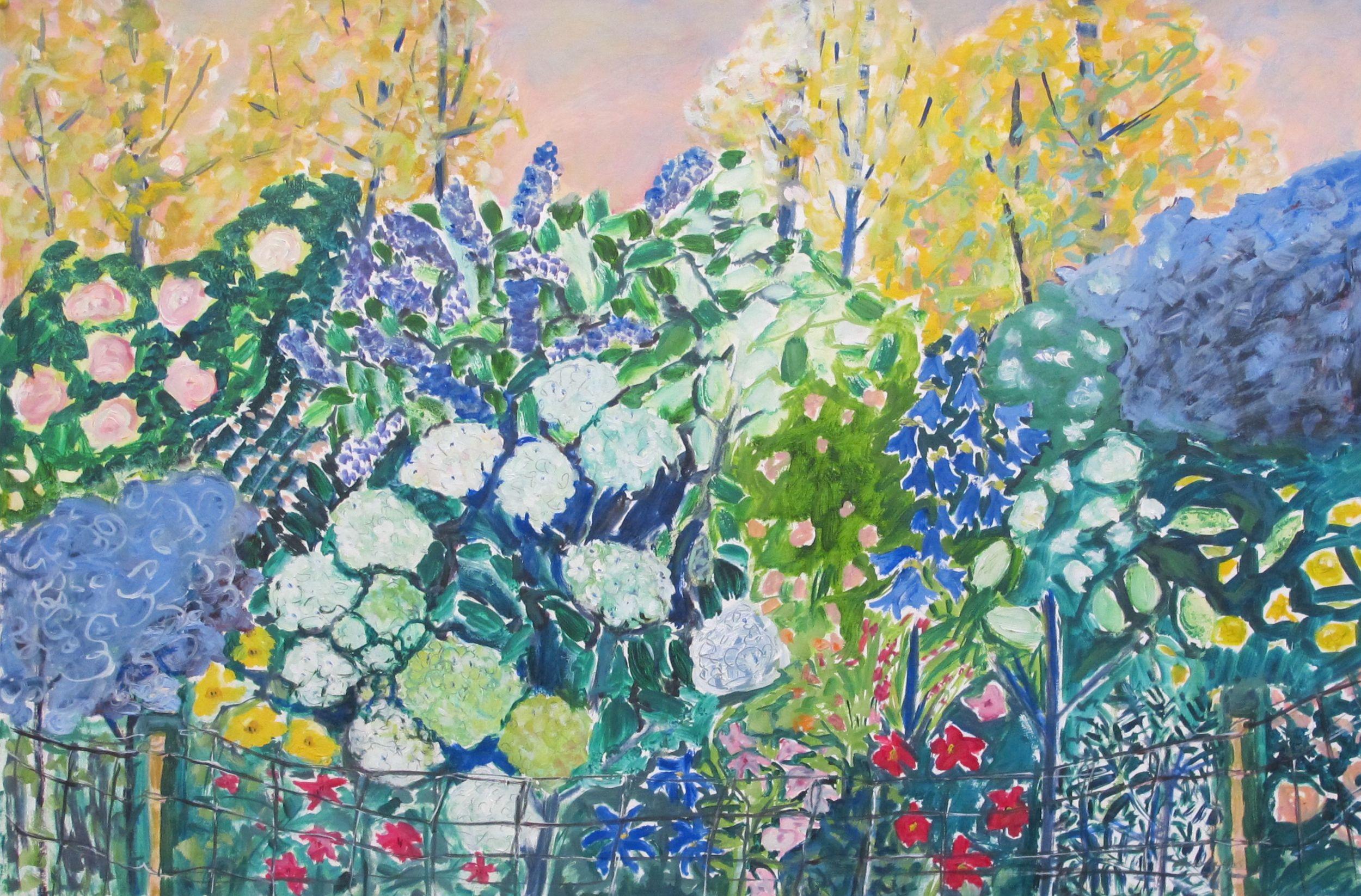 S Paris Garden oil on paper 26 x 40 inches.jpg