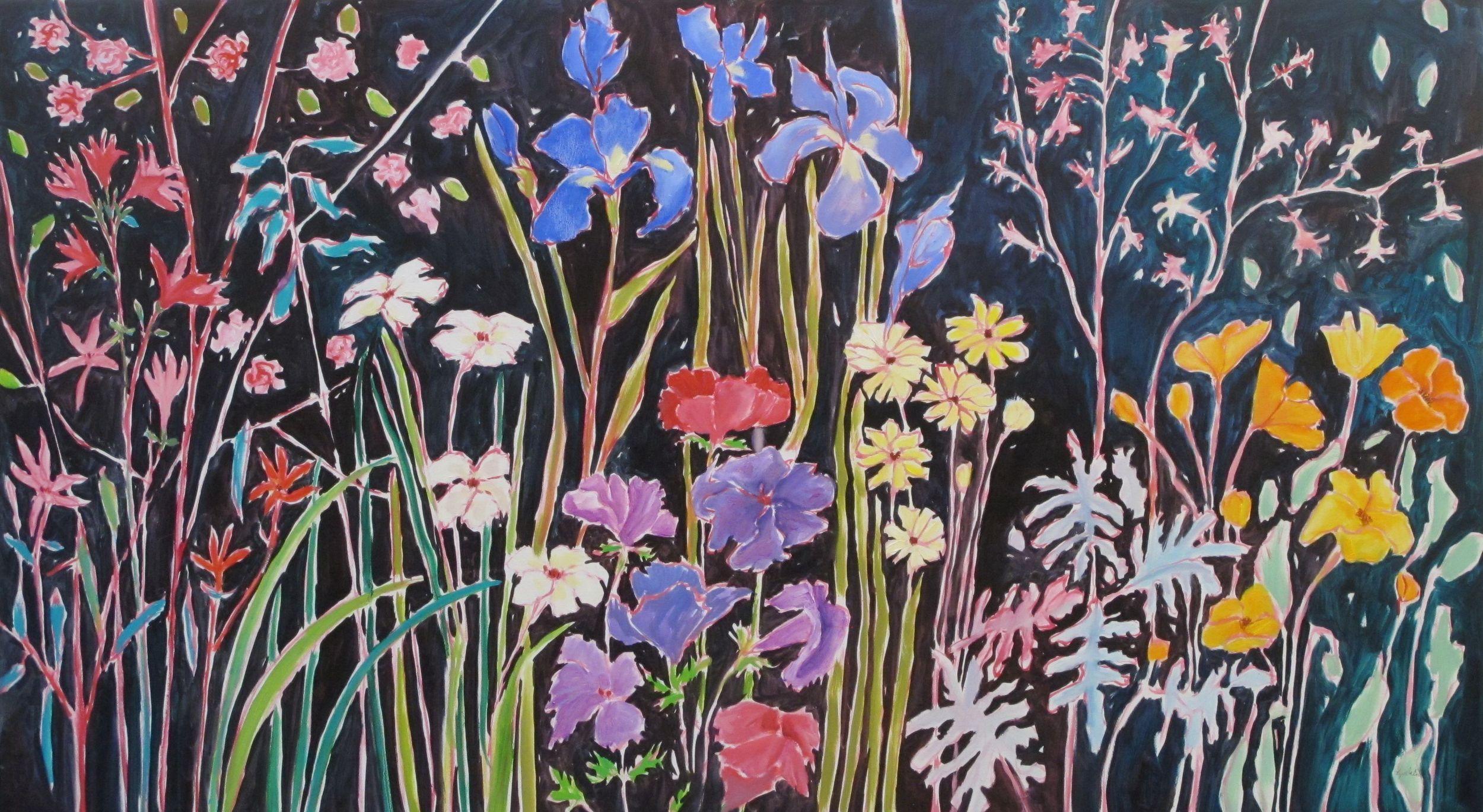 S Sprimg Garden oil on canvas 30 x 54 inches.jpg
