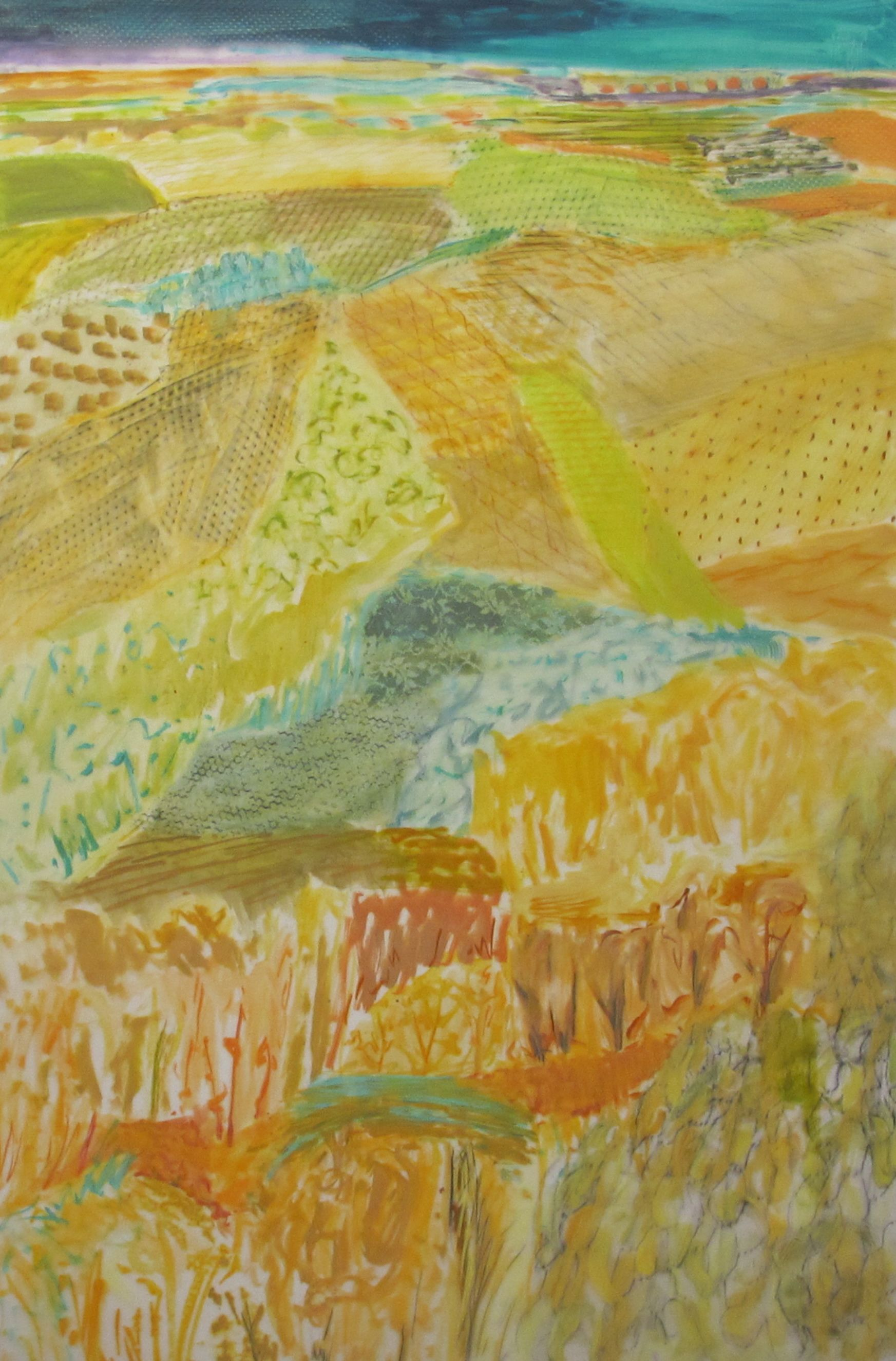 Lexan Patterned land study oil mixed media on lexan 72  x 48 inches (2).jpg