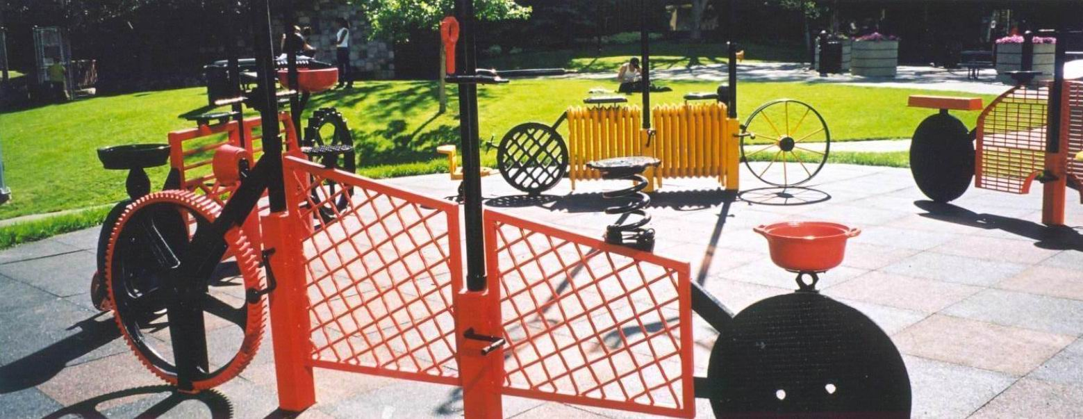 P 13  Recycles Fence Bike (L 10 ft5.5in X H 15ft).jpg