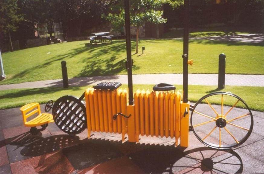 P 15  Recycles Radiator Bike (L10 ft 5 in XH 15 Ft).jpg