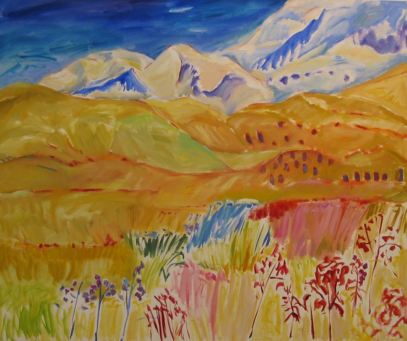 3Up to the Mountains oil on canvas 50x50ins.jpg