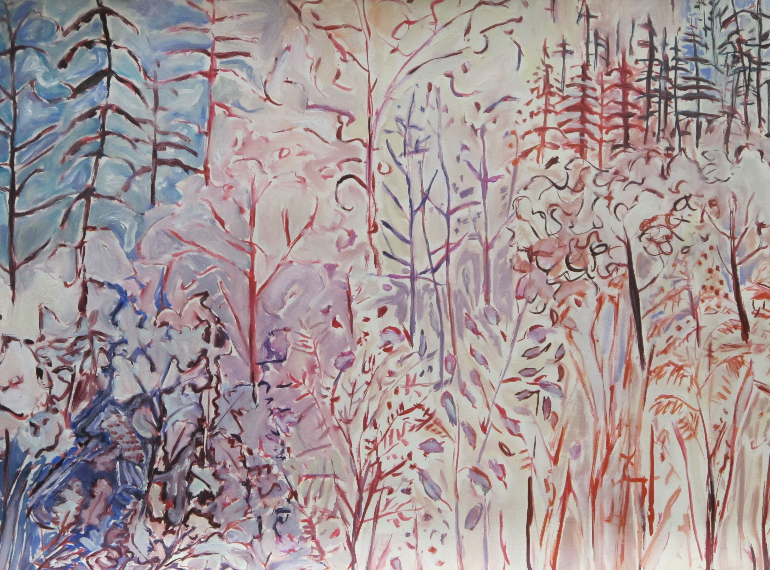 Winter Path oil on paper 26 x 40 inches.jpg