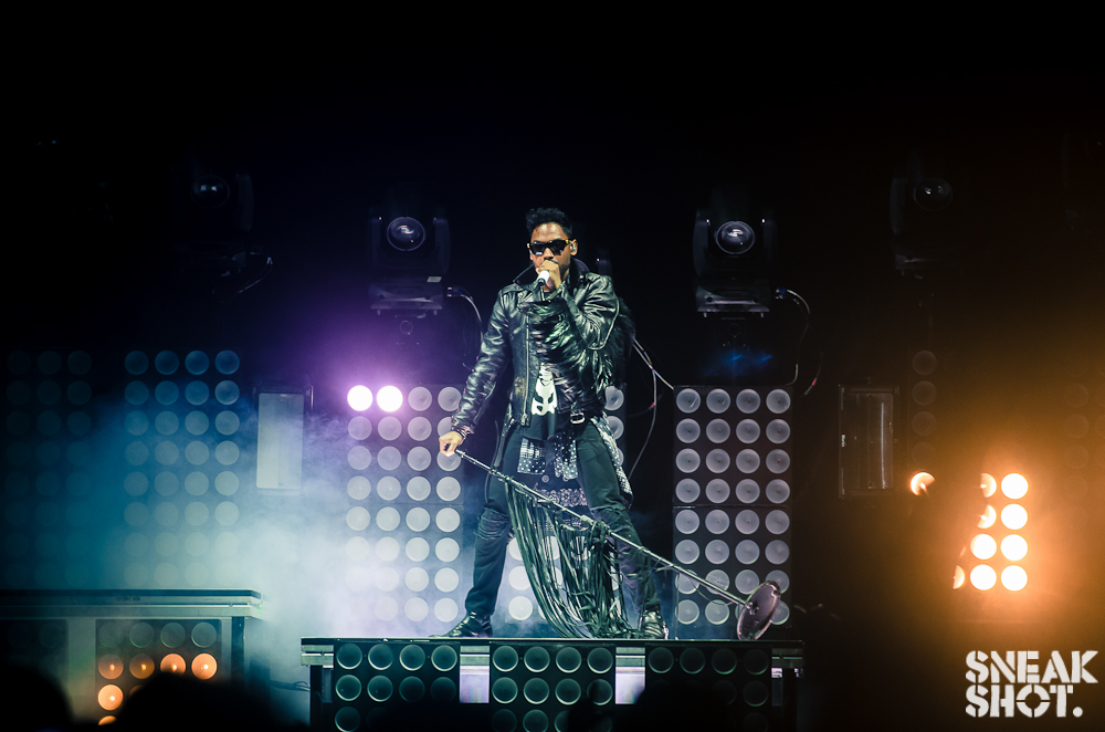 Miguel ( miguelunlimited ) at Verizon Center during the DC #WouldYouLikeATour stop.