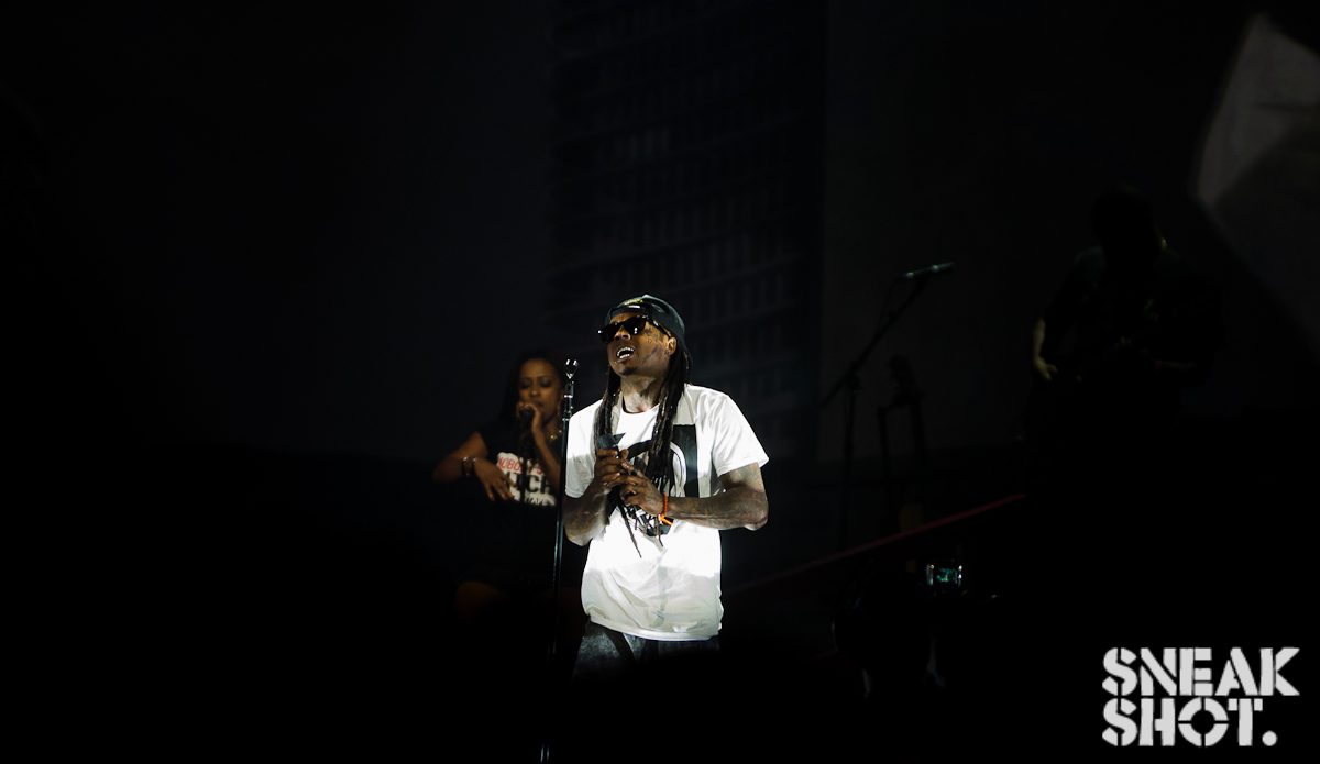 @liltunechi | America's Most Wanted Tour | Verizon Center (DC) | 8.2.13