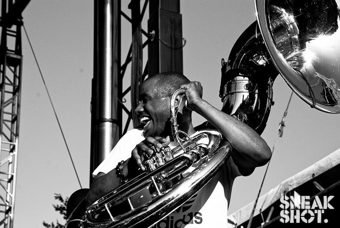 Tuba Gooding Jr of the Legendary Roots Crew | The Great Googa Mooga (Brooklyn, NY) | 05.19.12