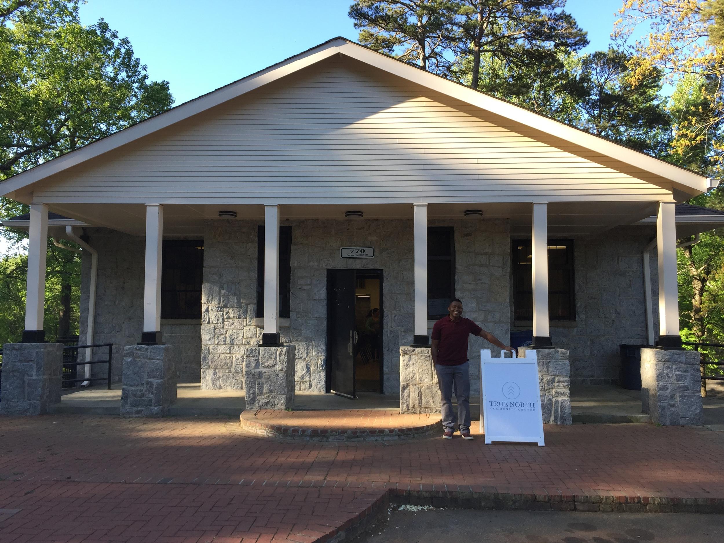 True North Community Church in Atlanta, GA, meets in the Perkerson Park Recreation Center in their neighborhood.
