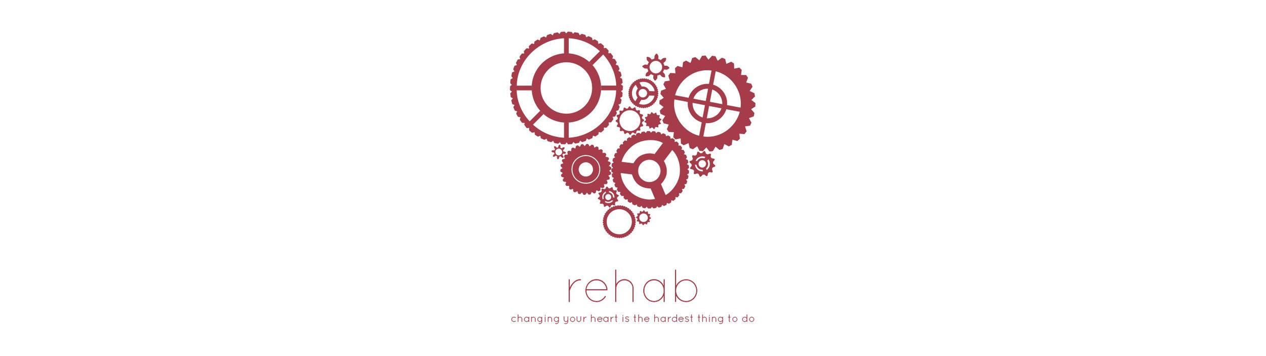 Rehab Sermon Series art from Hulen Street Church in Fort Worth, TX