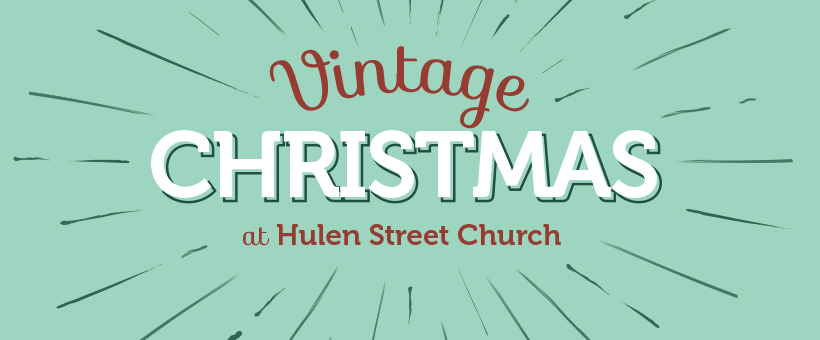 art for Christmas Eve 2017 at Hulen Street Church in Fort Worth, TX