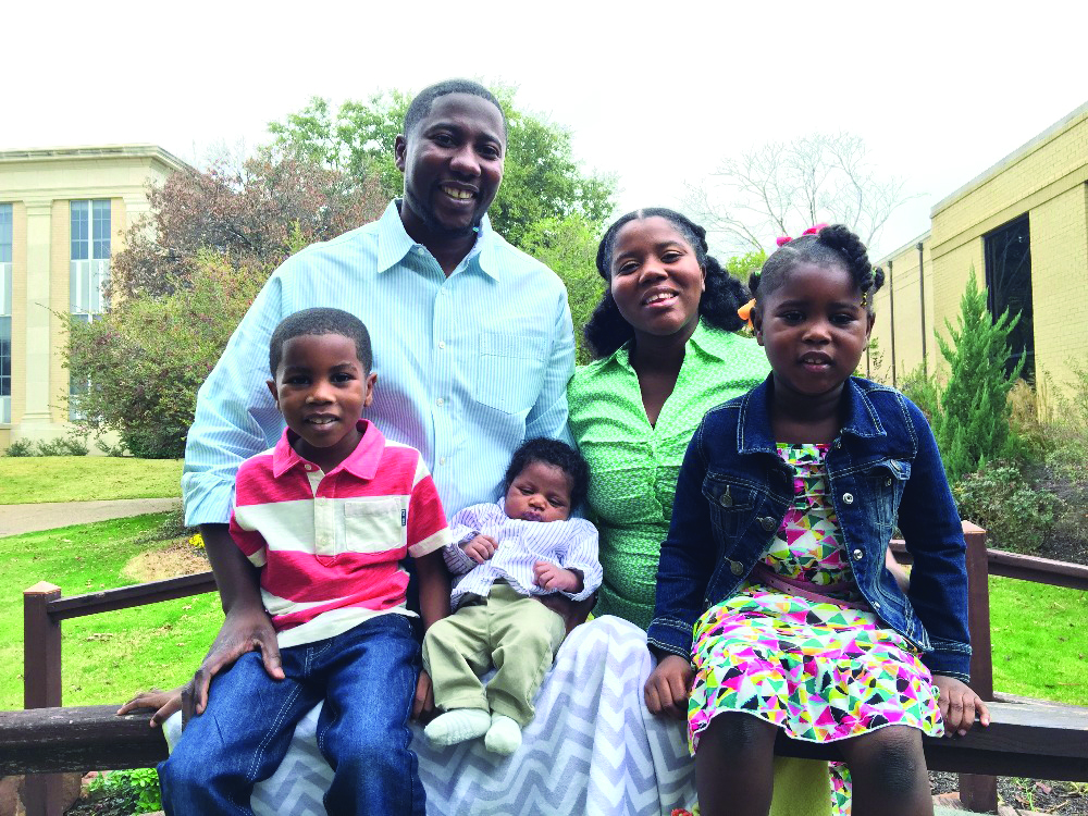Pierre St. Louis and his family are already ministering in Haiti, and getting ready to build an orphanage.