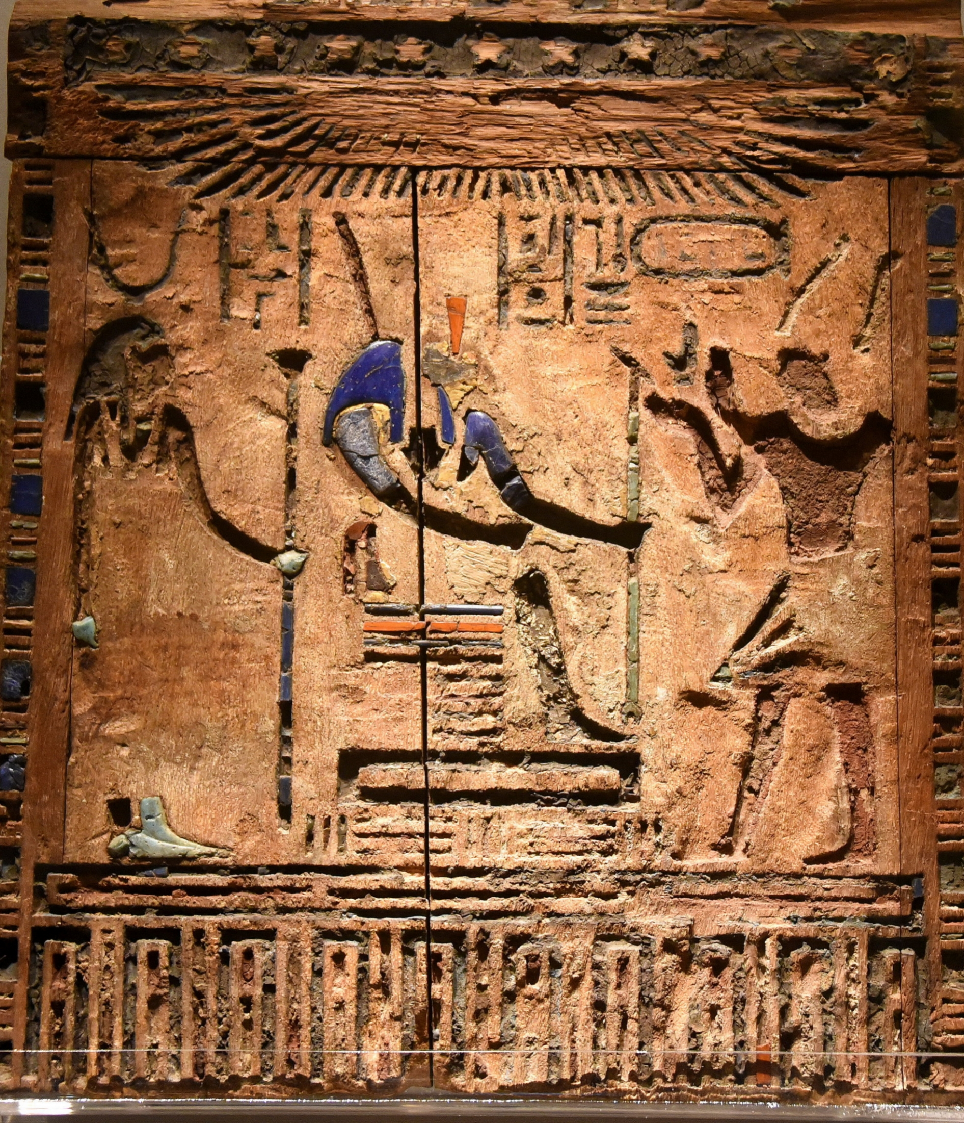 Egyptian carving that may or mat not support Darius I being the Pharaoh of the Bible.