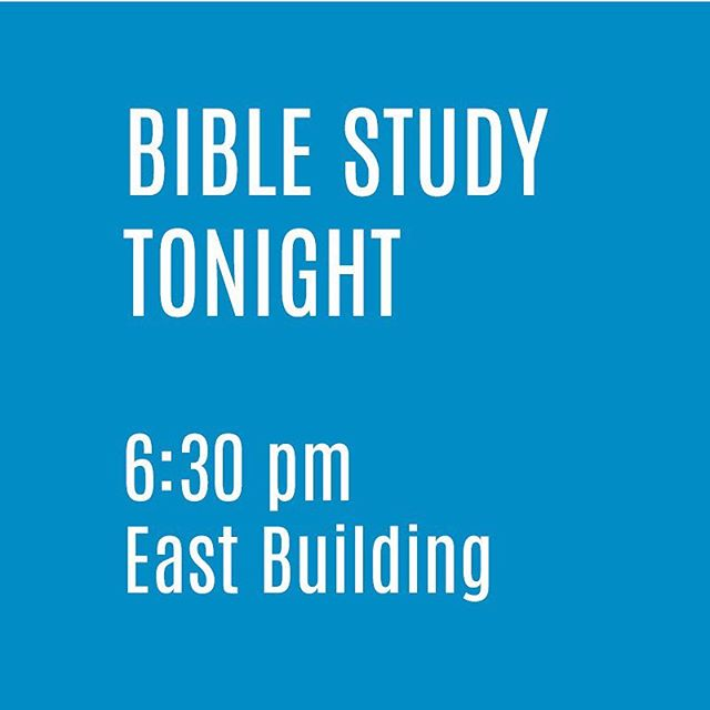 Join us tonight at 6:30 pm!