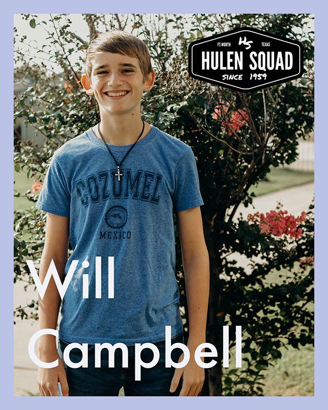 @will_campbell65737 happy birthday! Welcome to your NOW junior year of high school! We are excited for all the new lessons, new experiences, and relationships you'll have this year. We also pray for how much you'll grow in your faith. And congratulations on getting your first job this summer! #hulensquad