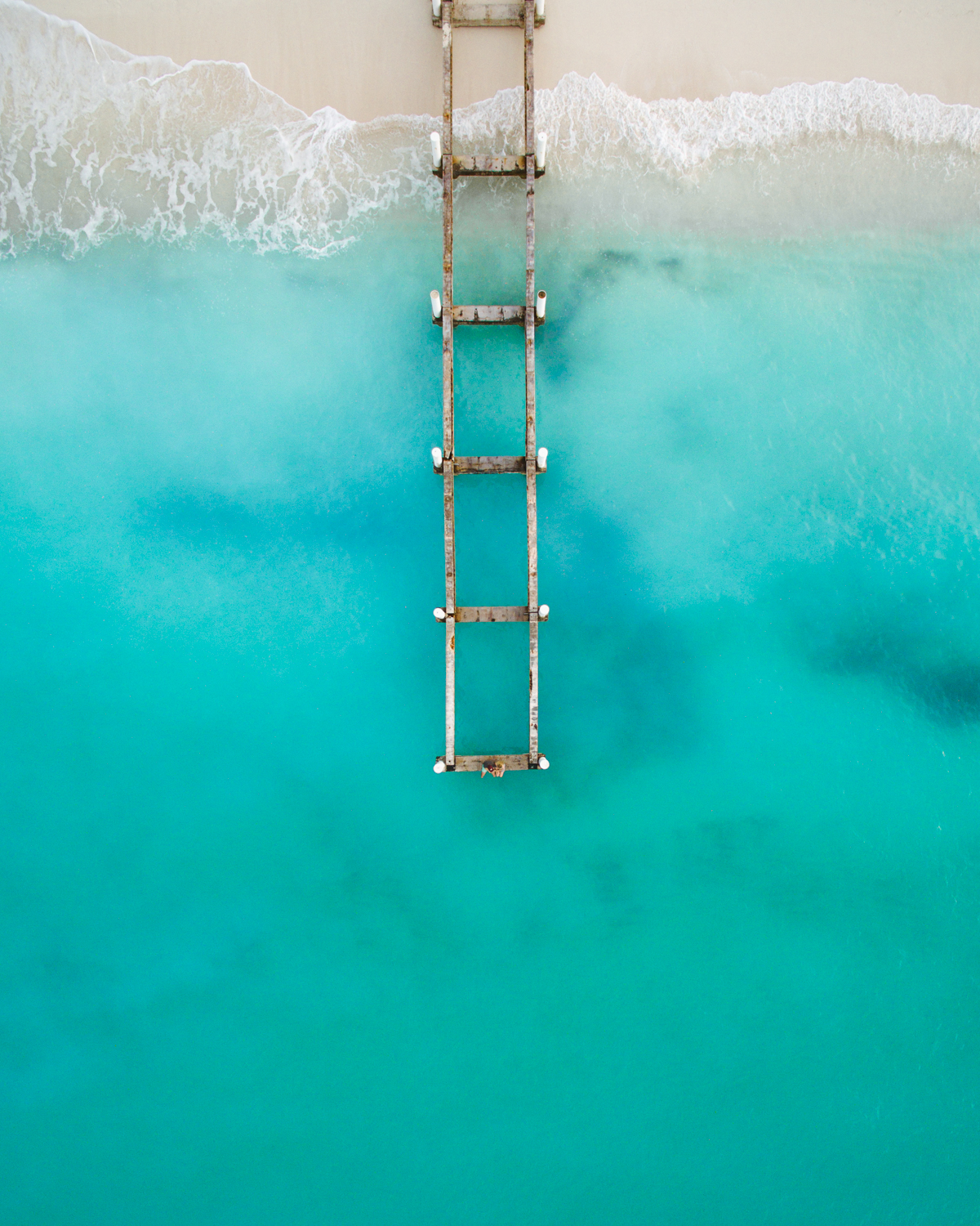 Grace Bay Turks and Caicos Drone