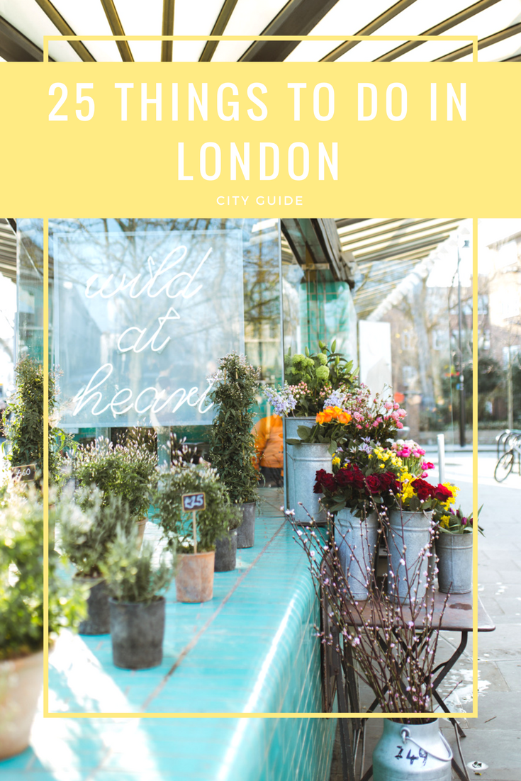 25thingstodoinlondon