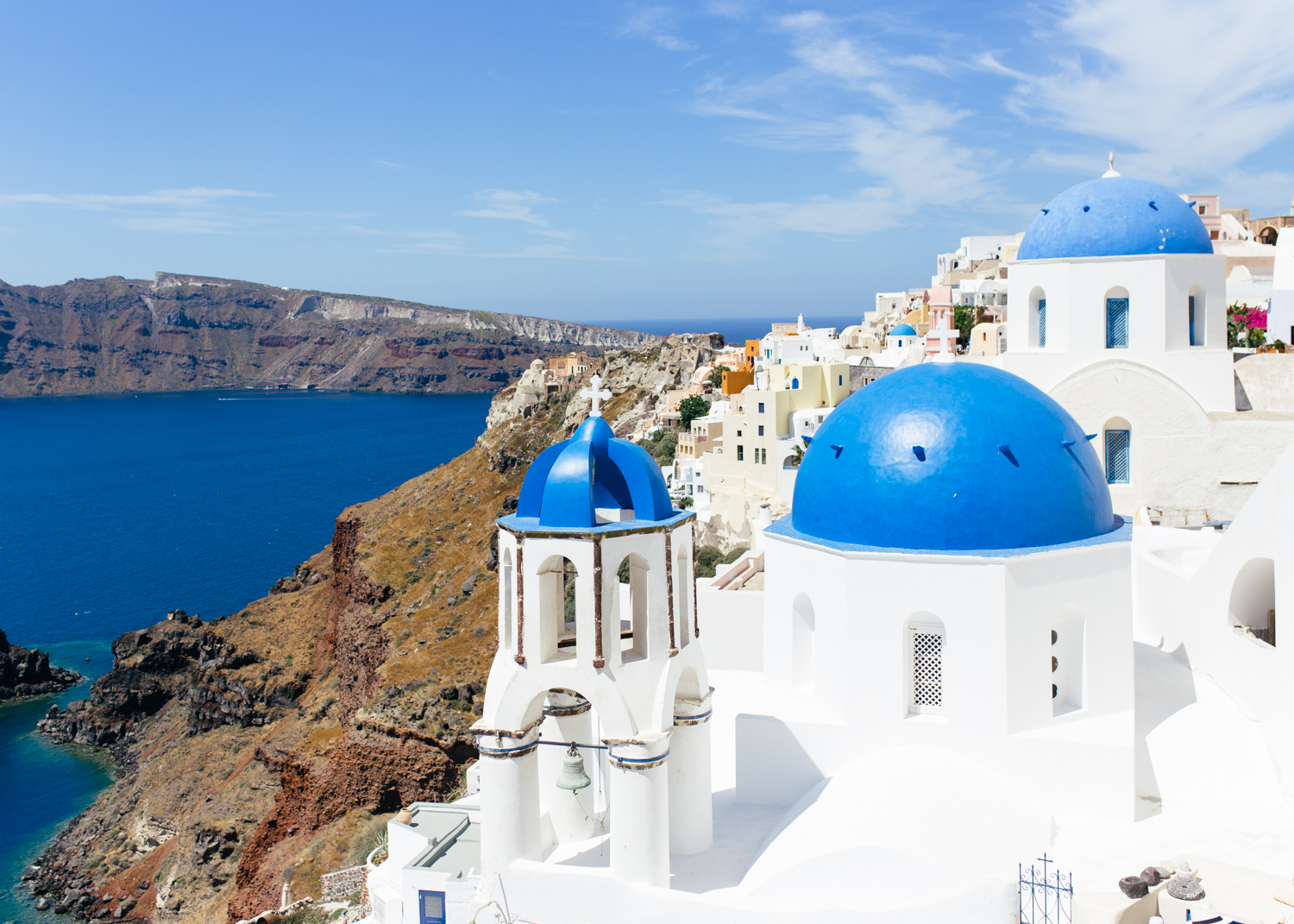 bluedomessantorinigreece