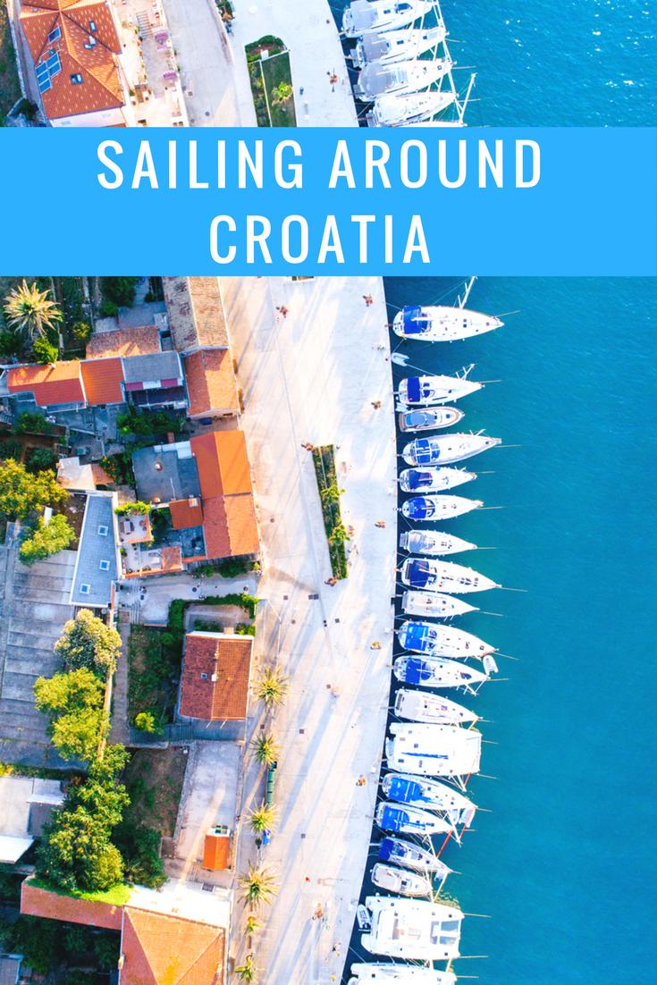 sailing croatia yacht getaways