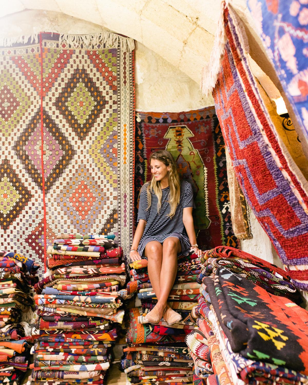 carpetshop cappadocia turkey