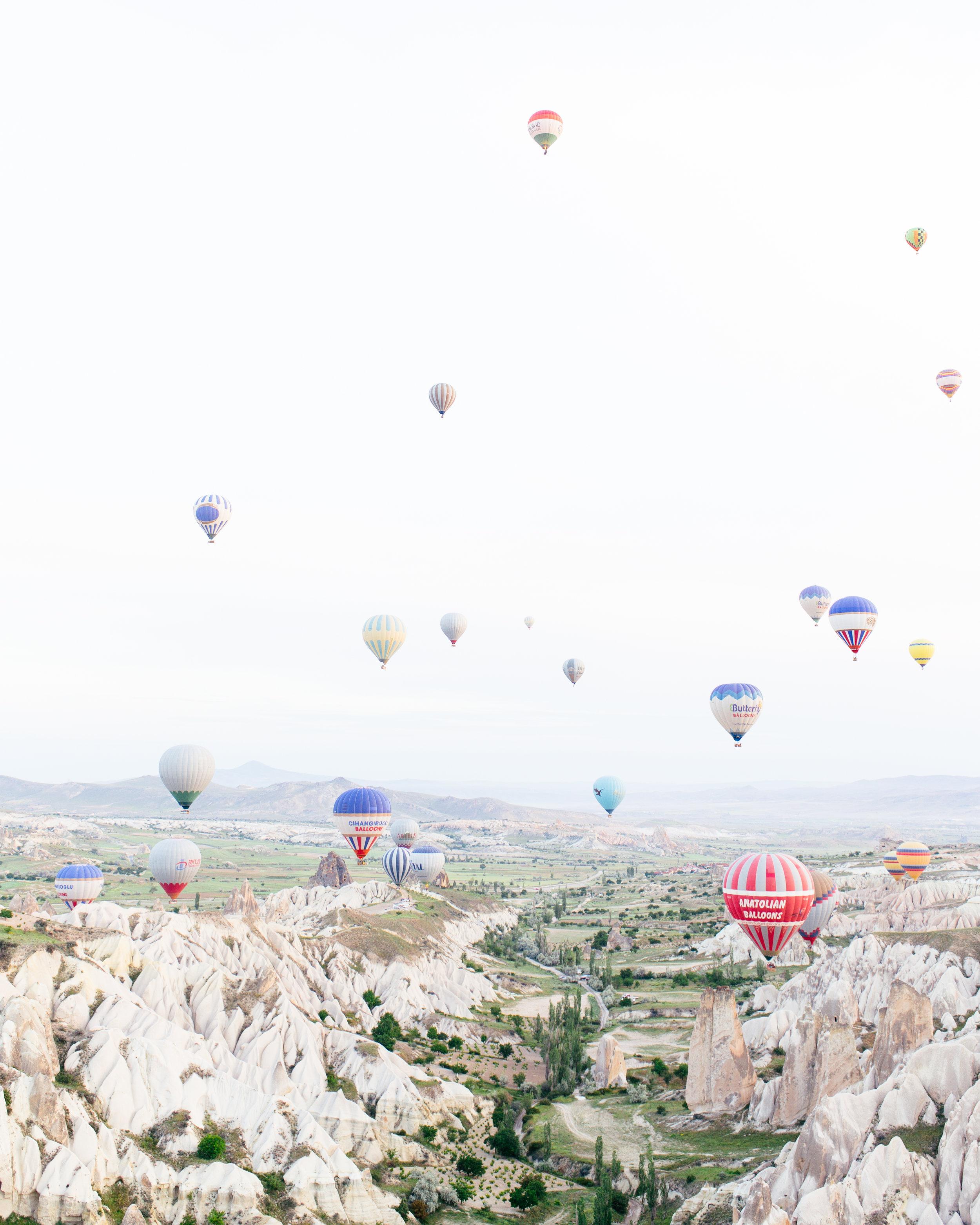 cappadocia turkey hot air balloon ride