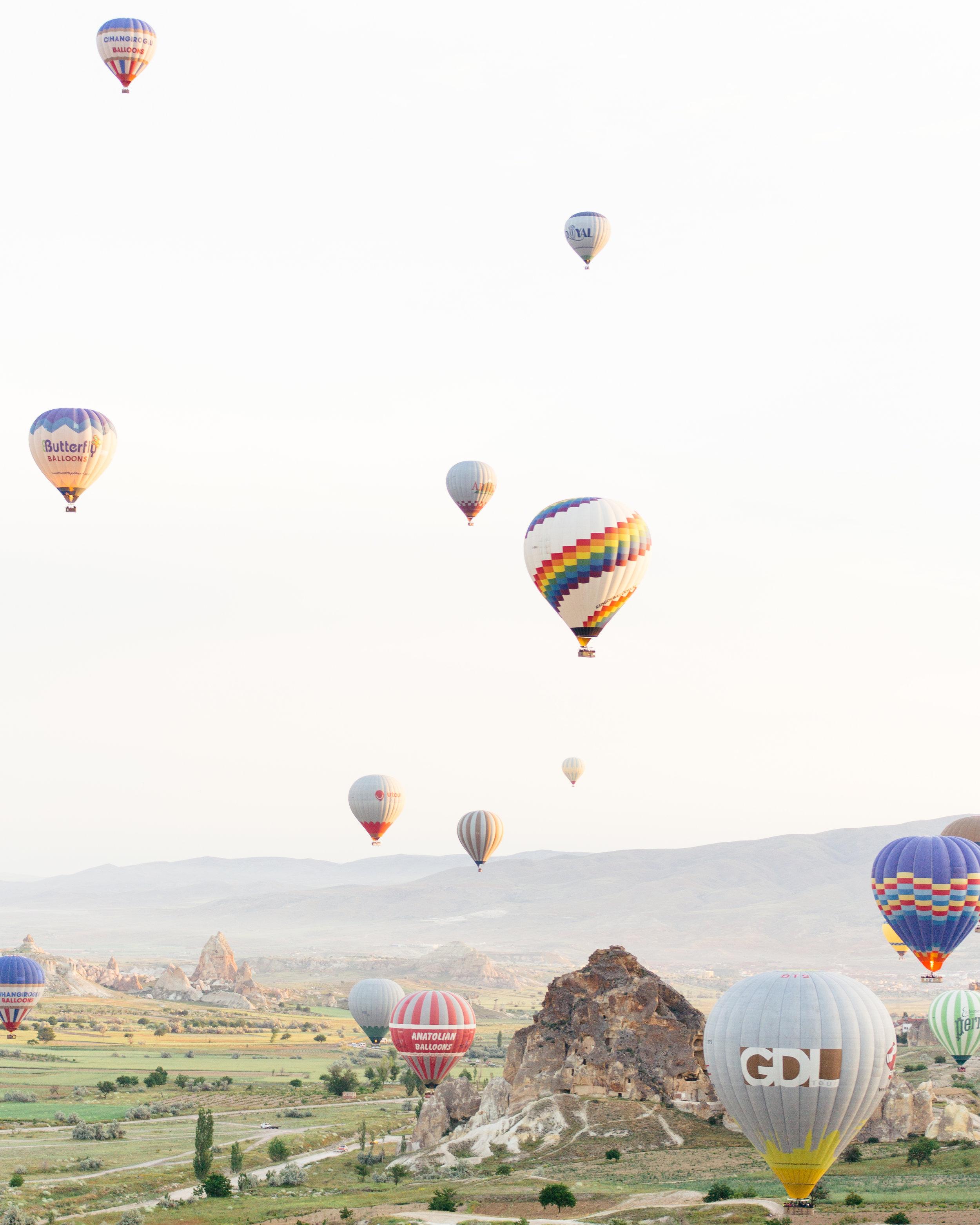 cappadocia turkey hot air balloons