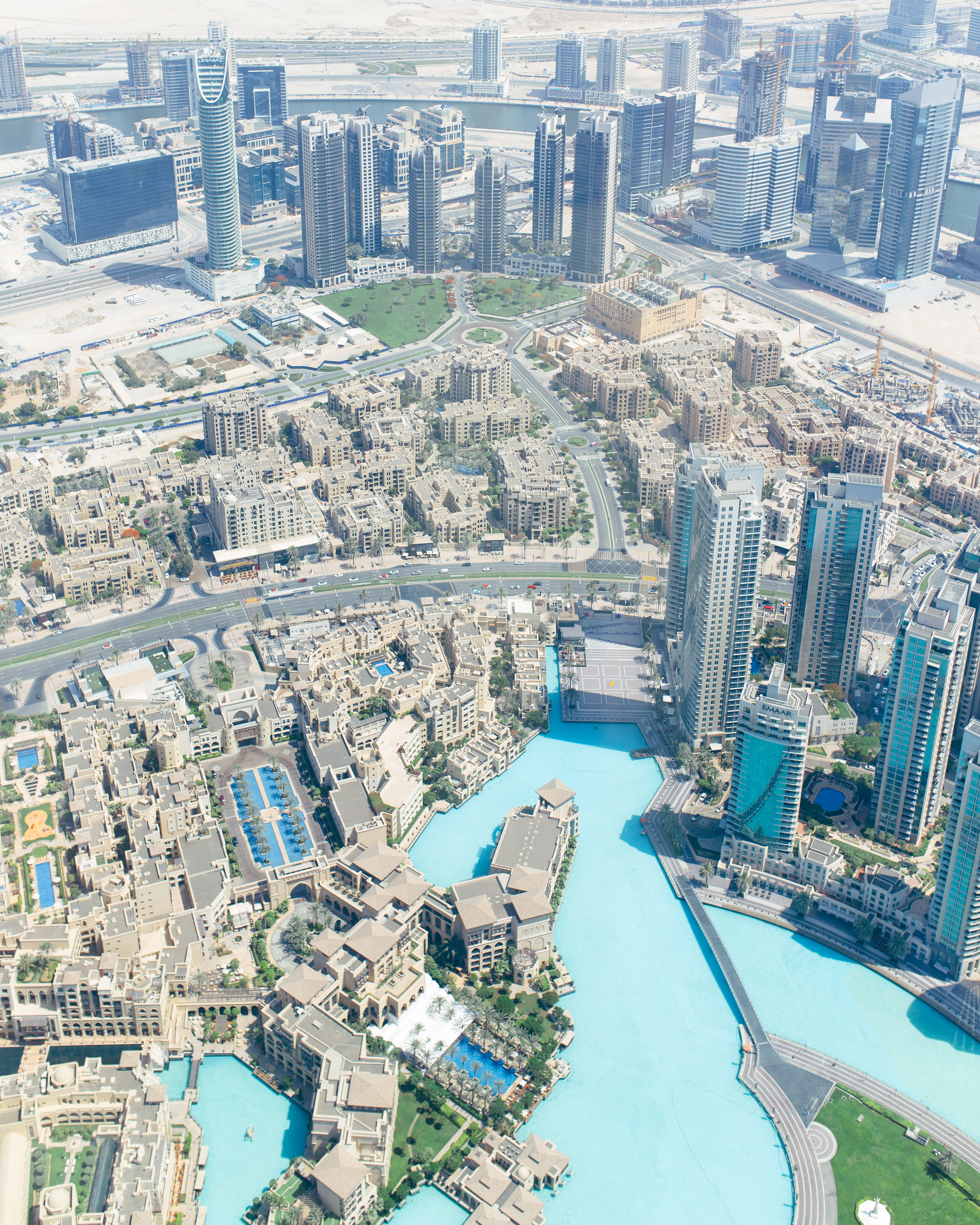 at the top burj khalifa dubai
