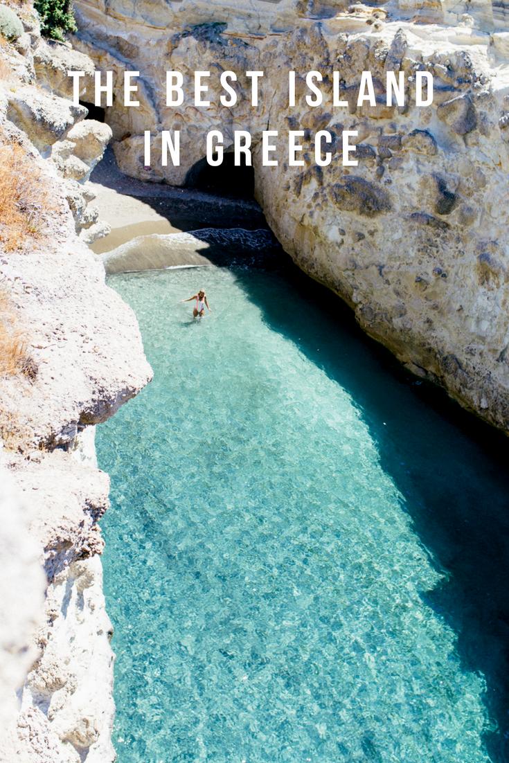 the best island in greece