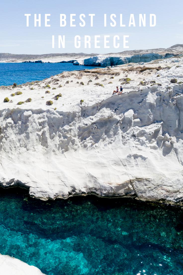 the best island in greece milos