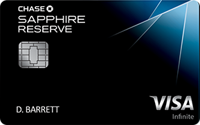 The Best Travel Credit Cards Chase Sapphire Reserve