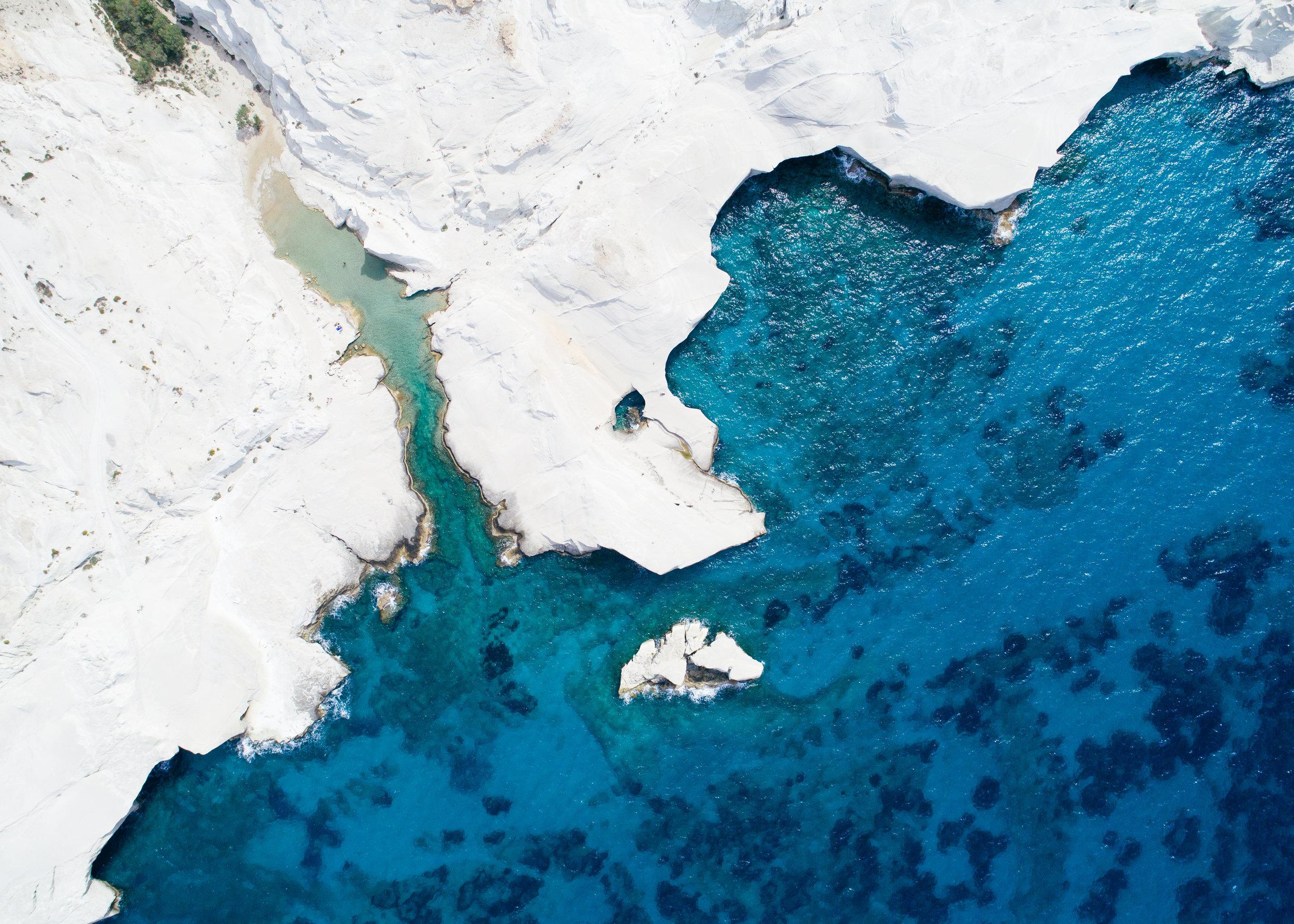 milos greece sarakiniko beach