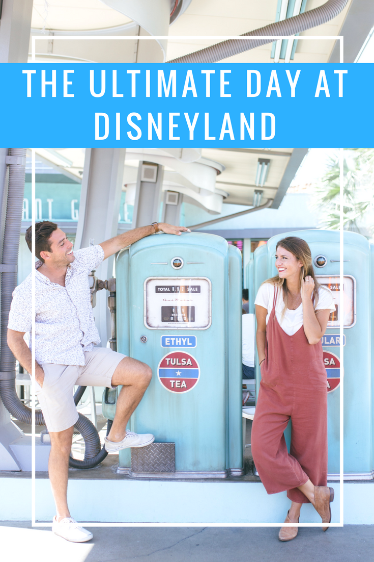 the ultimate day at disneyland california