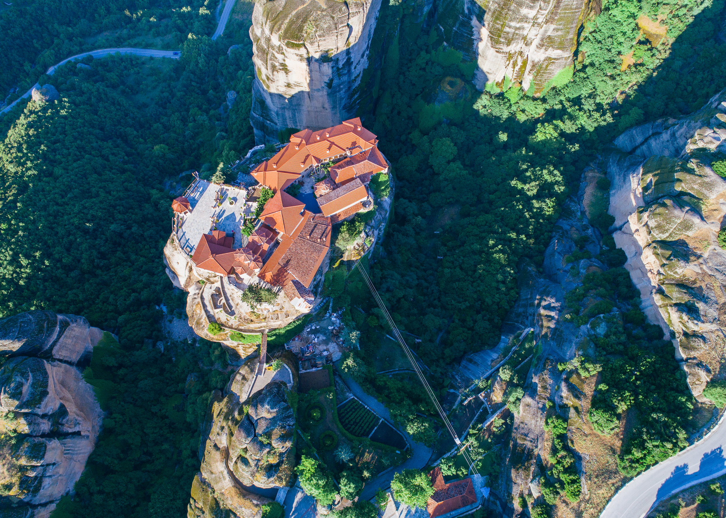 the best spot to visit in greece meteora
