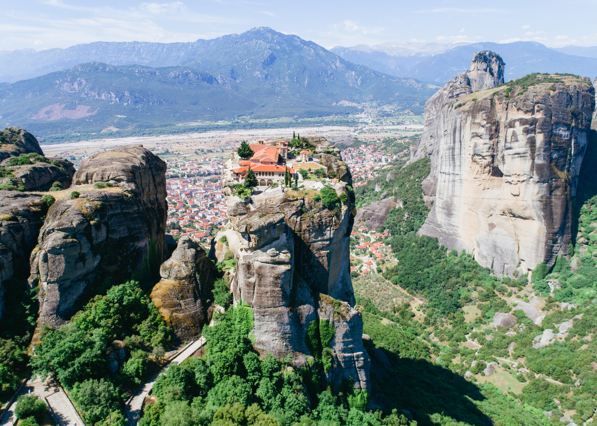 where to go in greece meteora
