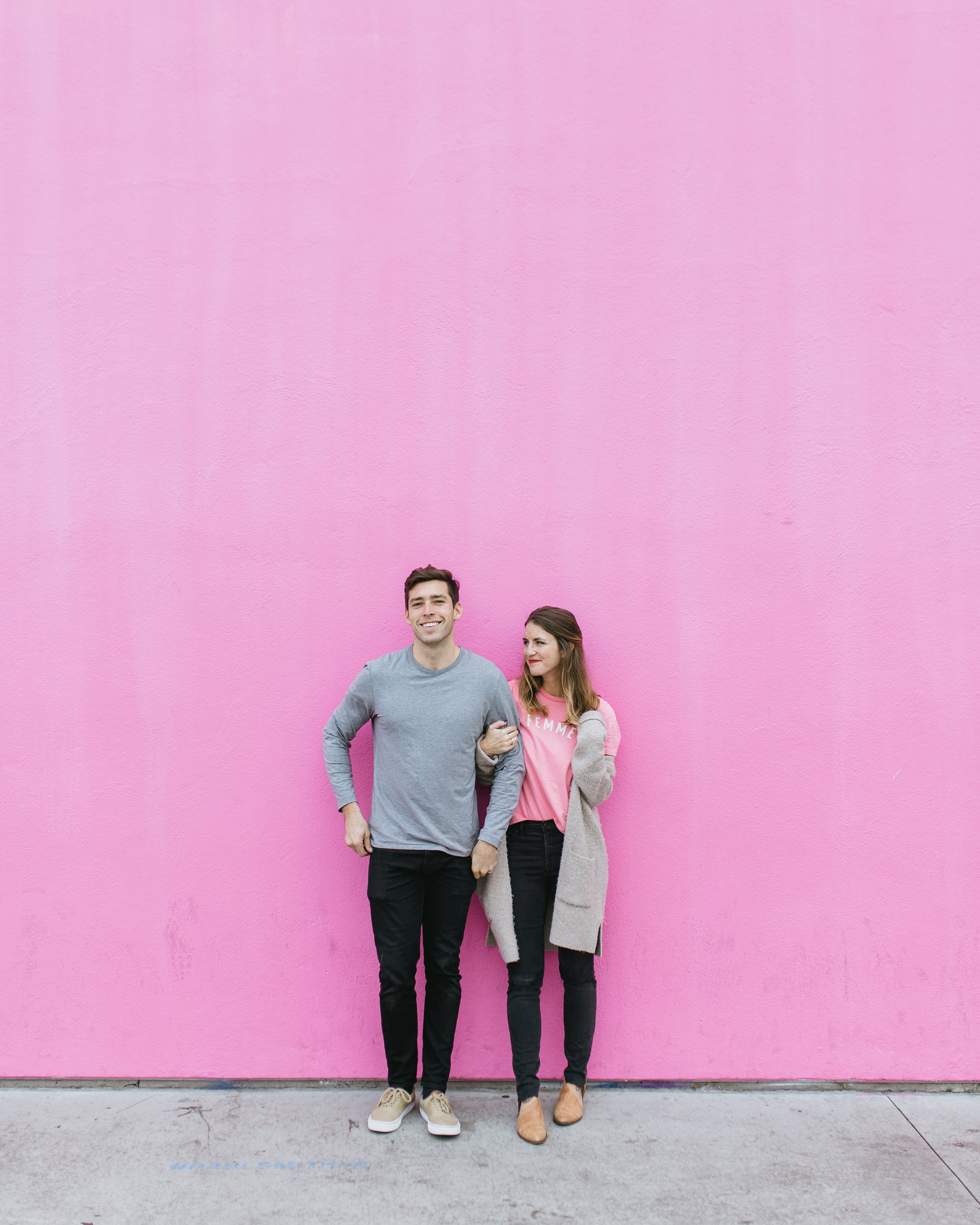 most instagrammable spots in los angeles paul smith wall