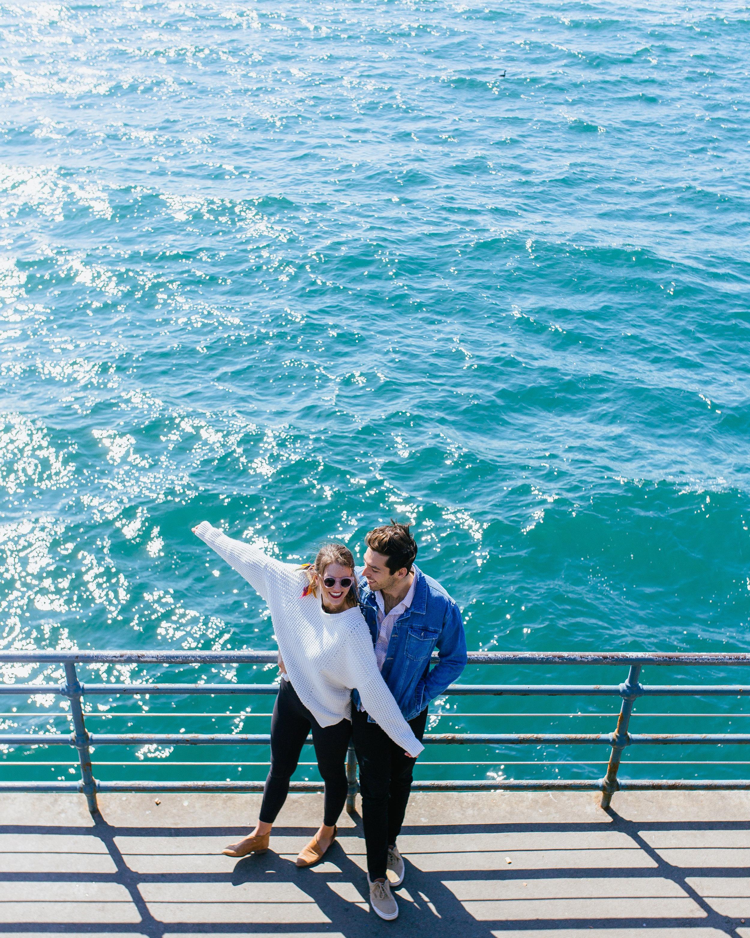 the most instagrammable spots in LA santa monica pier