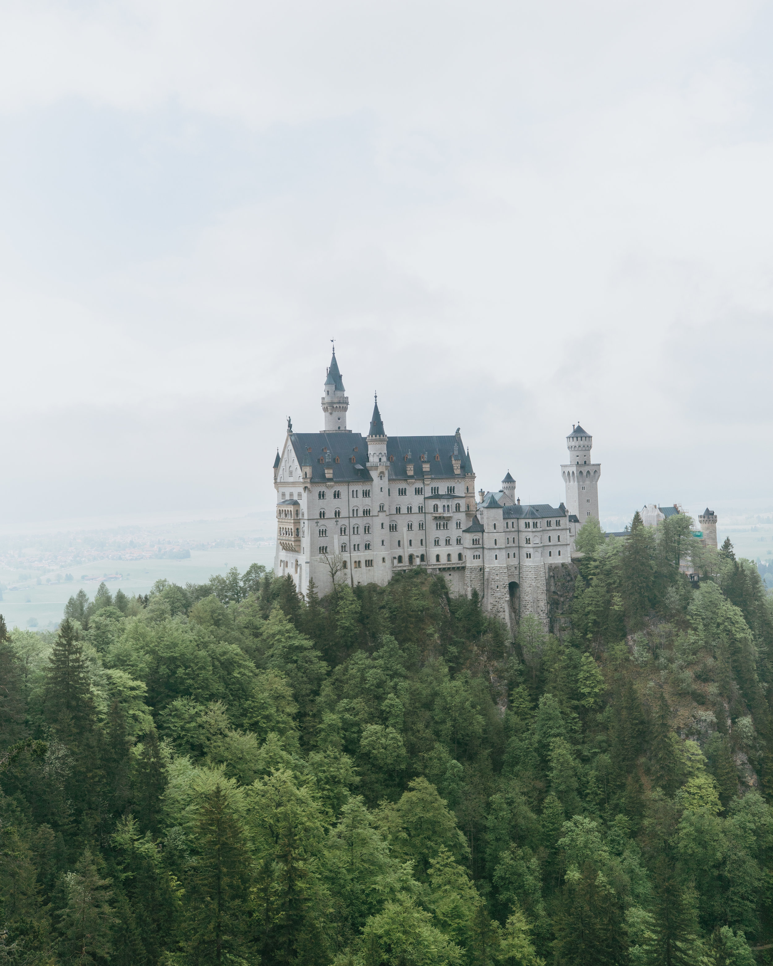 neuschwanstein castle germany acp rail