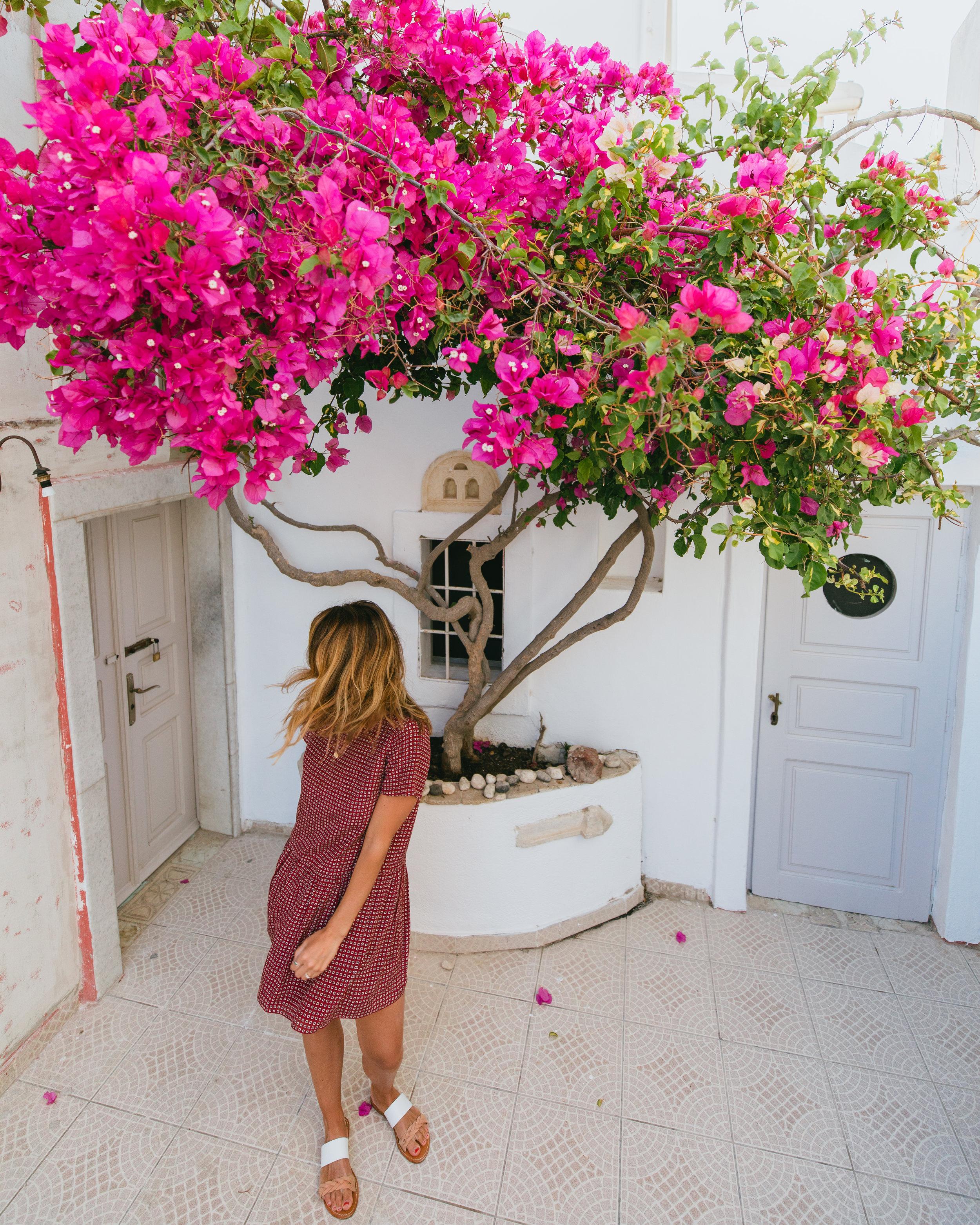 the most instagrammable spots in Santorini Greece