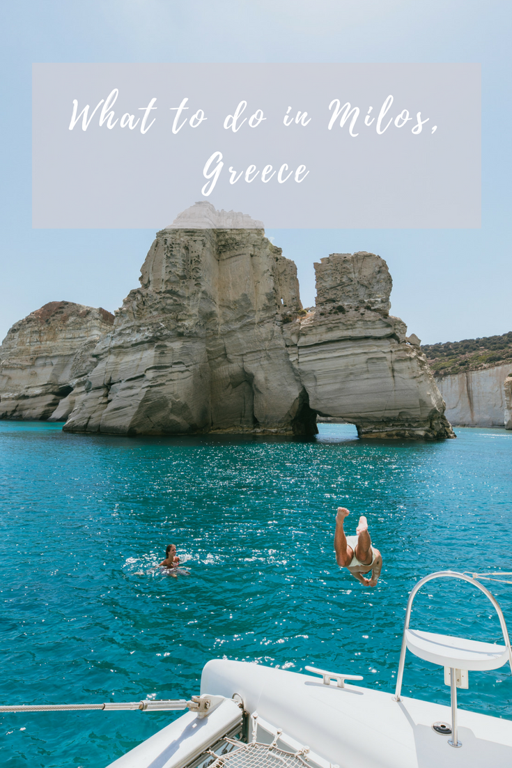 what to do in milos greece