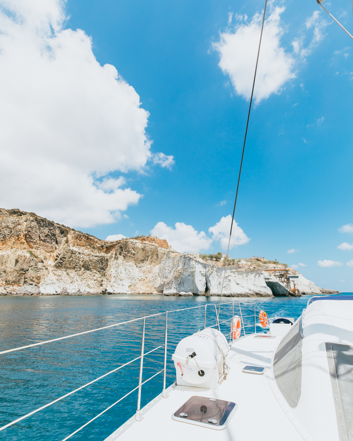 what to do in milos greece milos sailing adventure