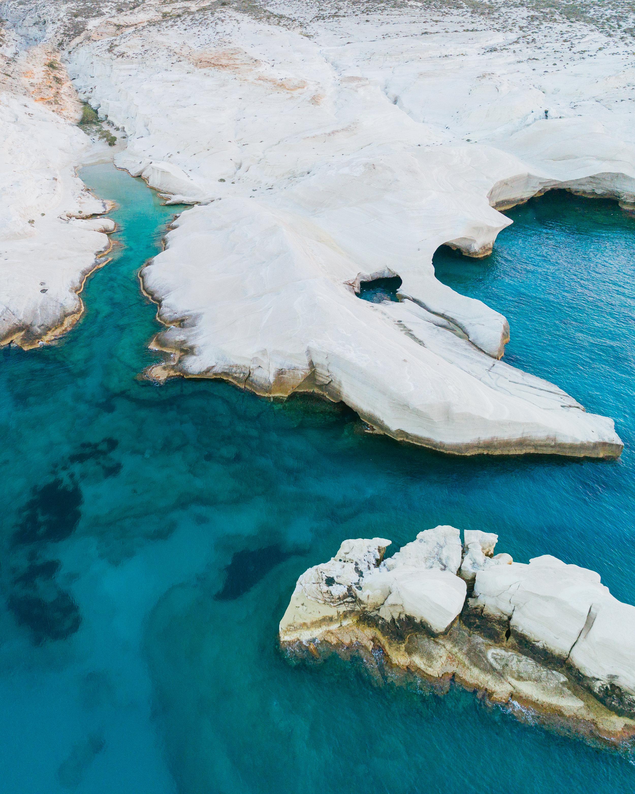 what to do in milos greece sarakiniko beach