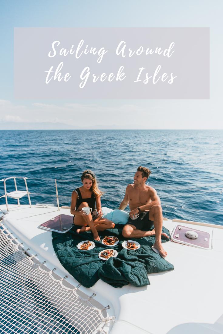 sailing around the greek isles with yacht getaways
