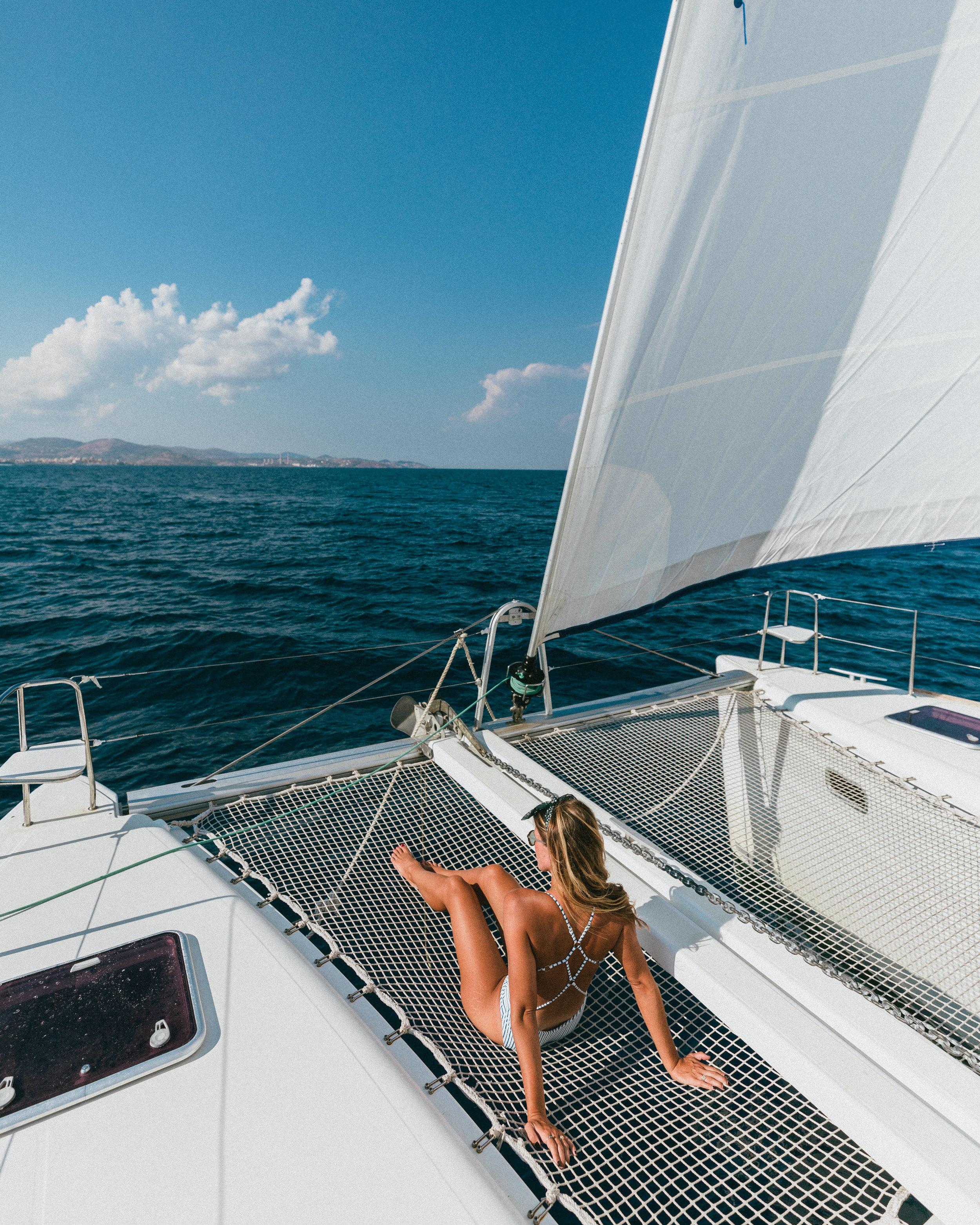 sailing around the greek cyclades with yacht getaways