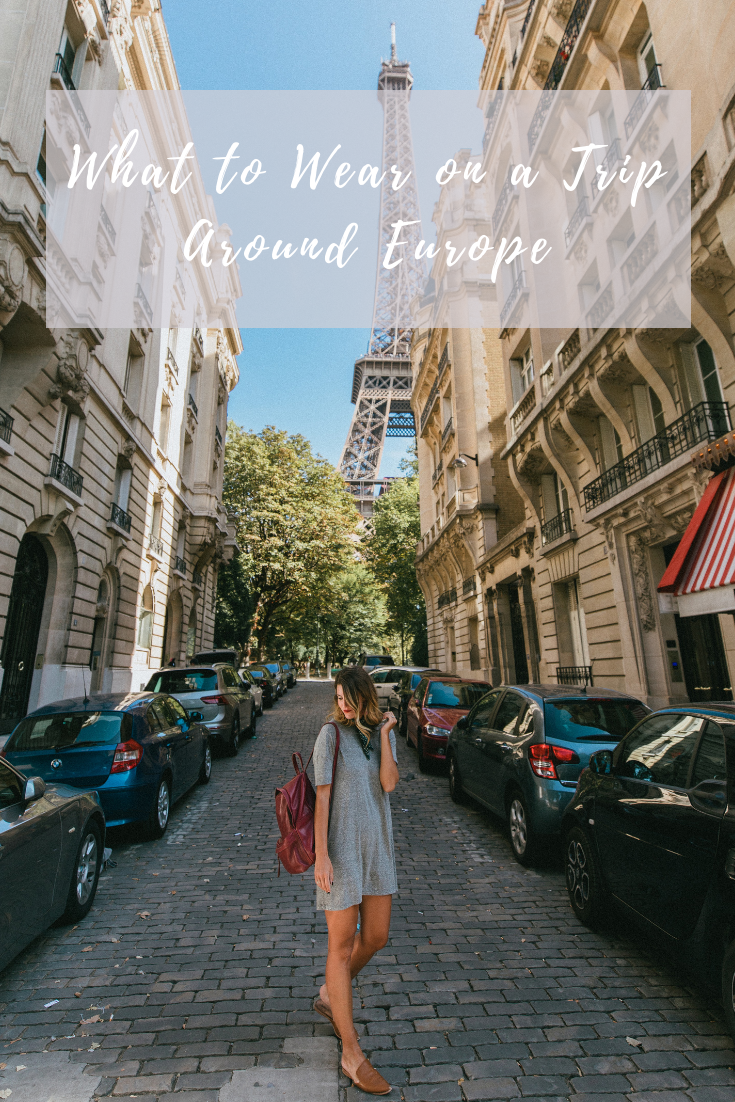 what to wear when traveling europe
