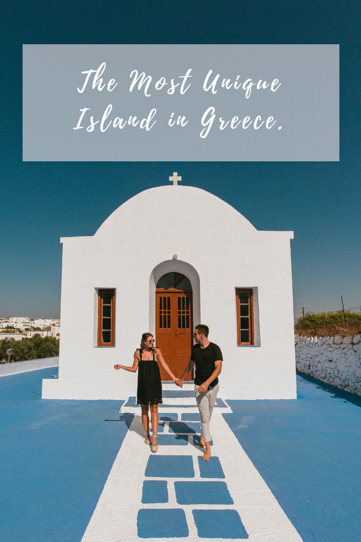 the most unique island in greece milos