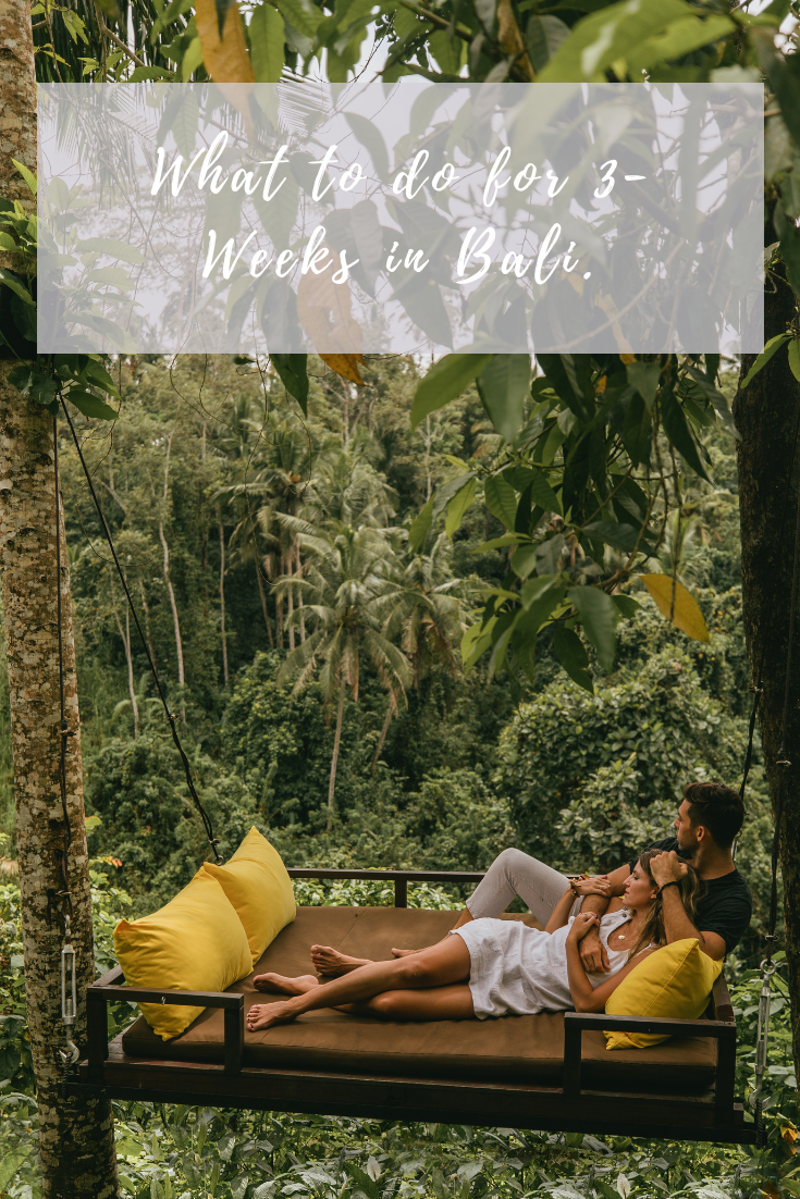 what to do in bali three weeks in bali travel guide