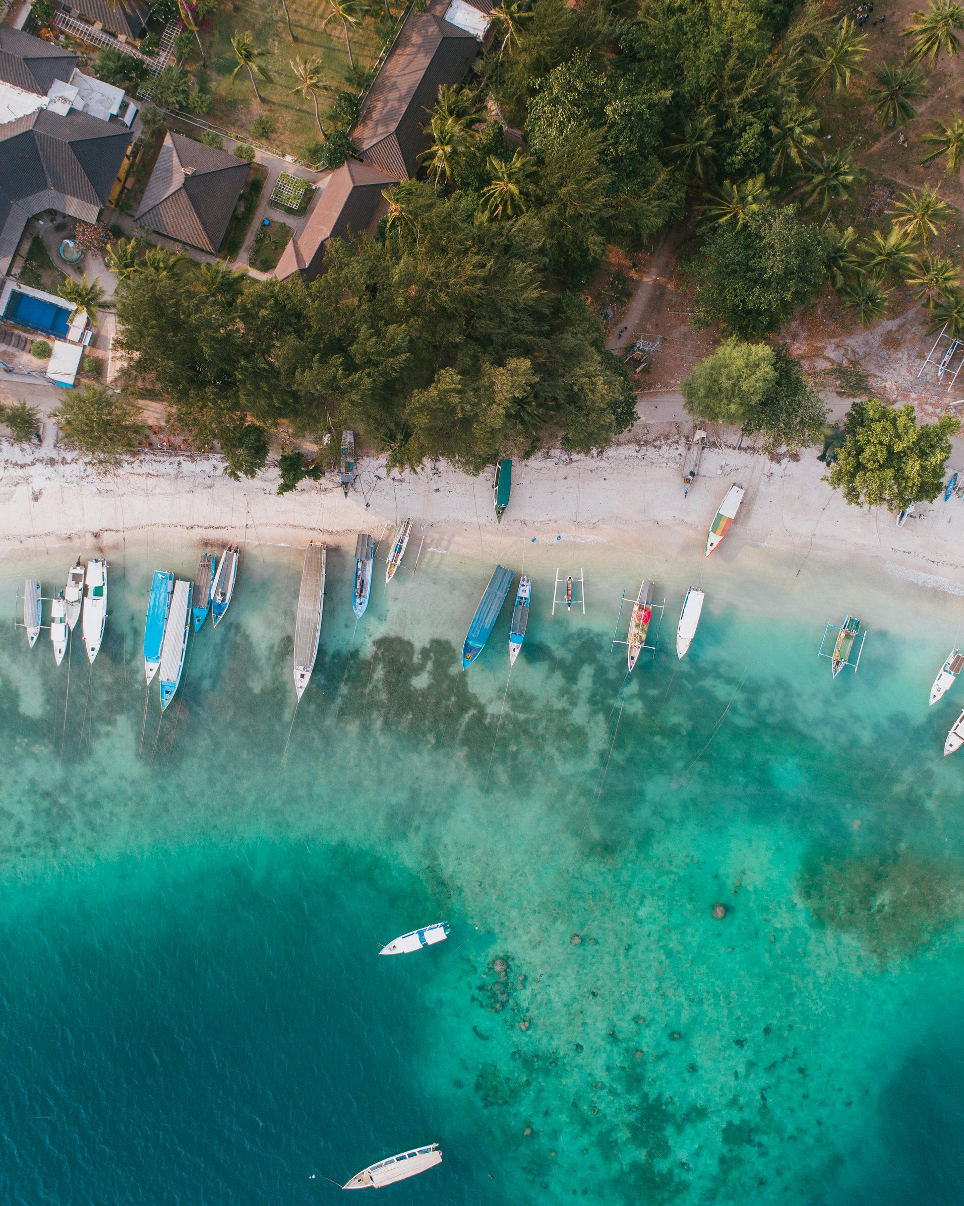 what to do in bali indonesia gili trawangan island