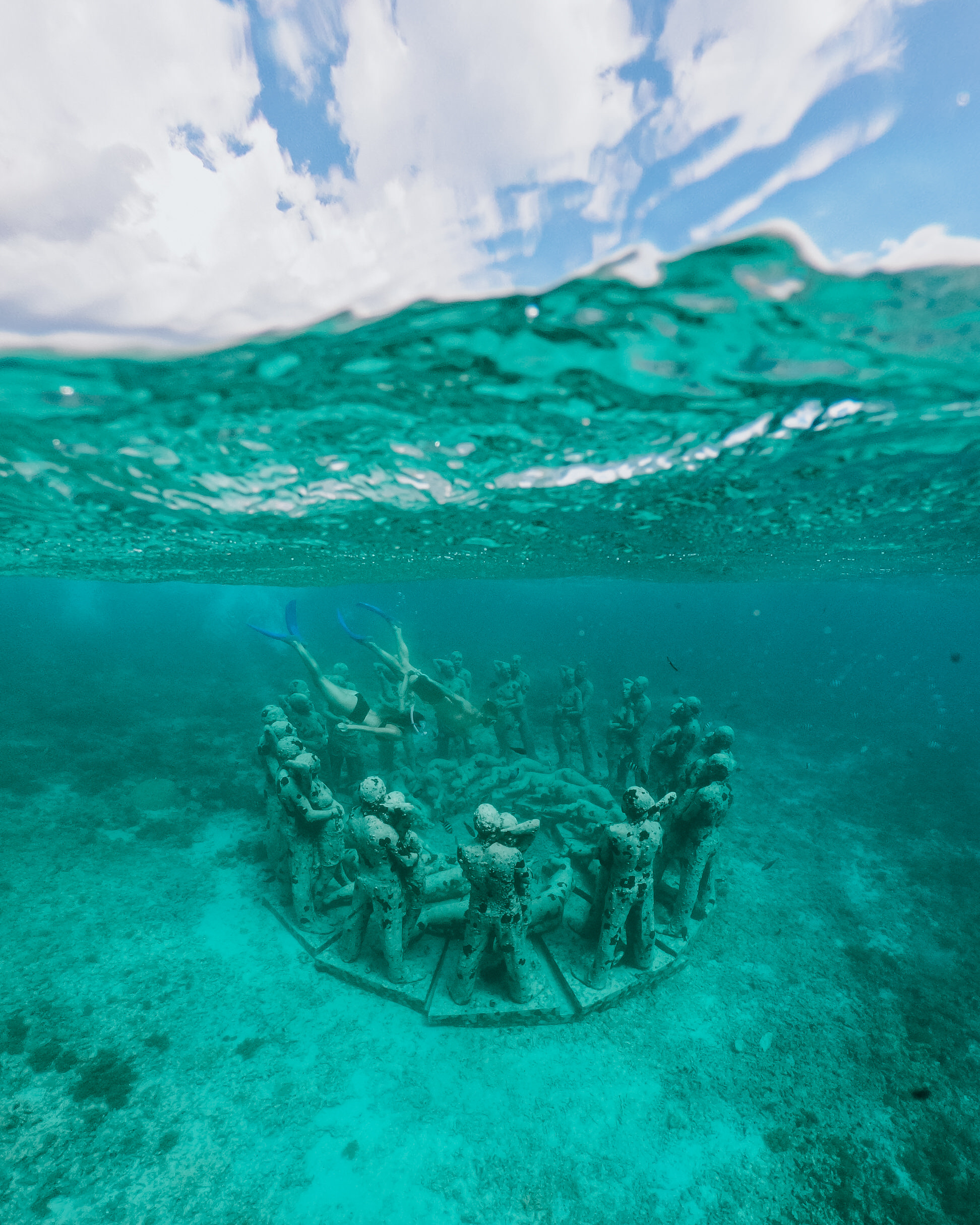what to do in bali indonesia gili air island underwater statues
