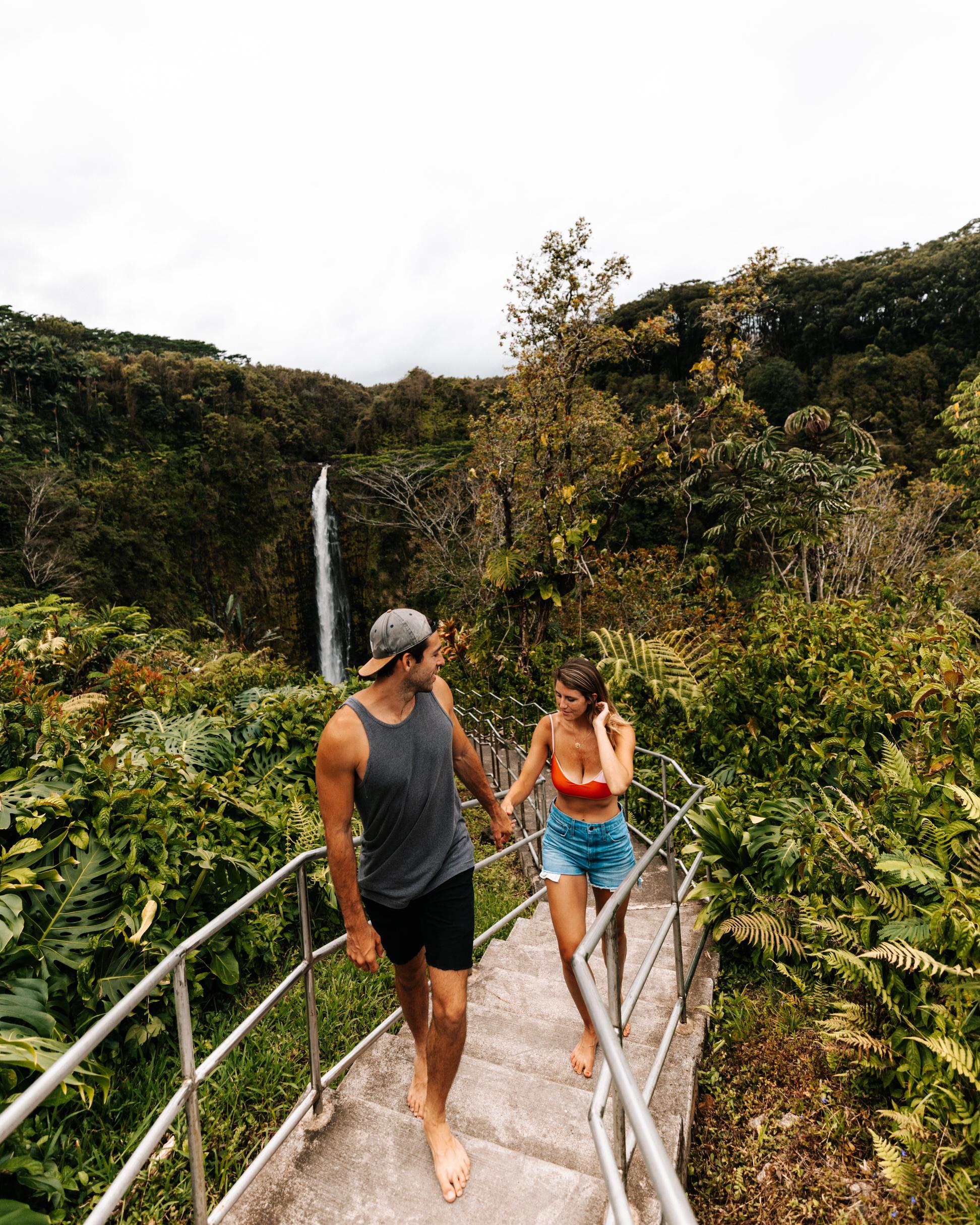 what to do on the big island of hawaii akaka falls